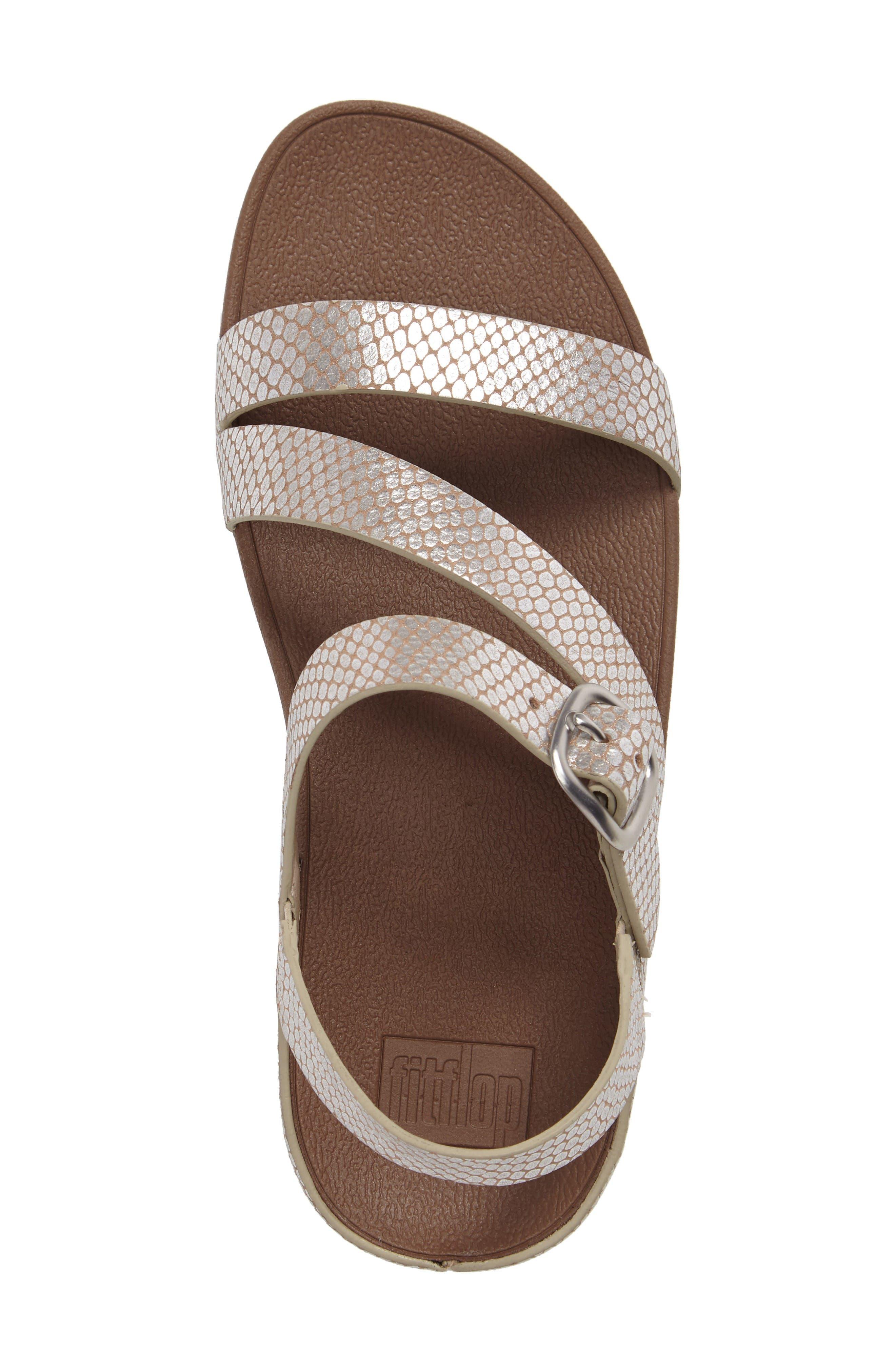 Alternate Image 5  - FitFlop The Skinny™ Z-Strap Sandal (Women)