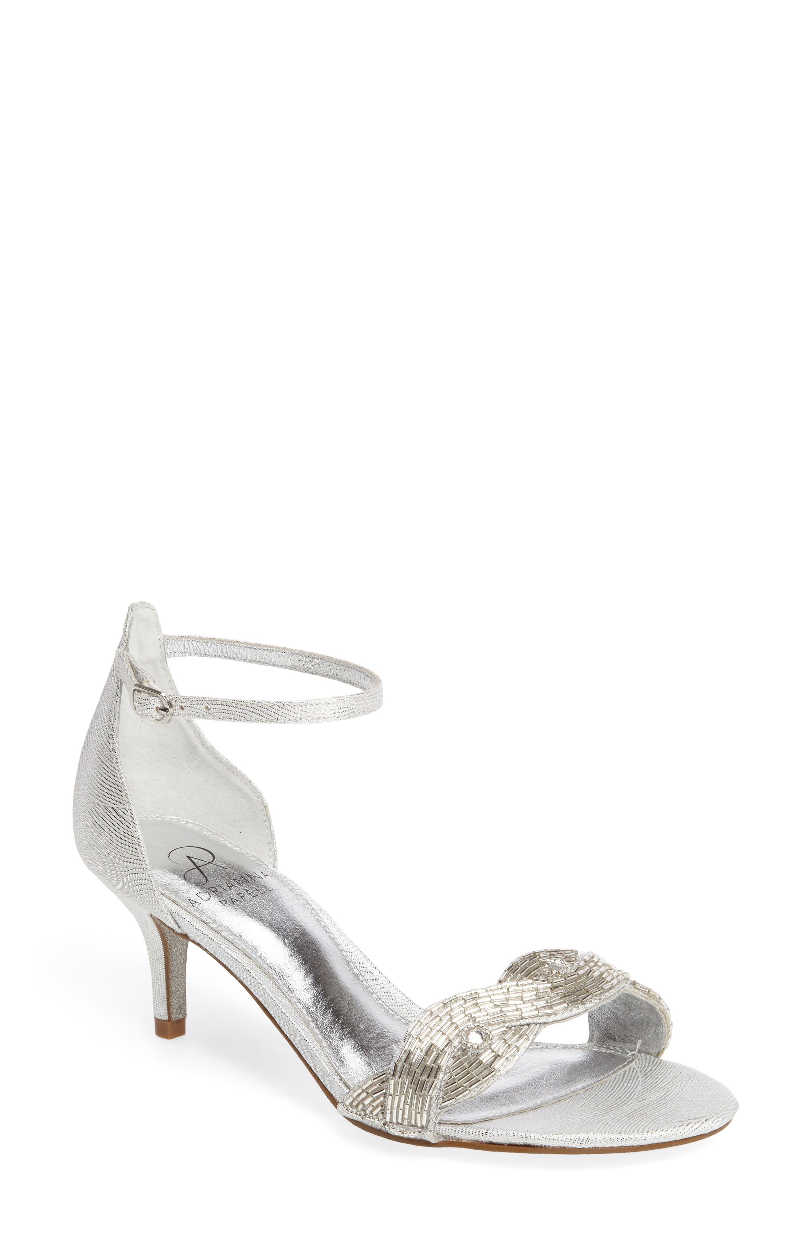 Adrianna Papell Aerin Embellished Sandal (Women)