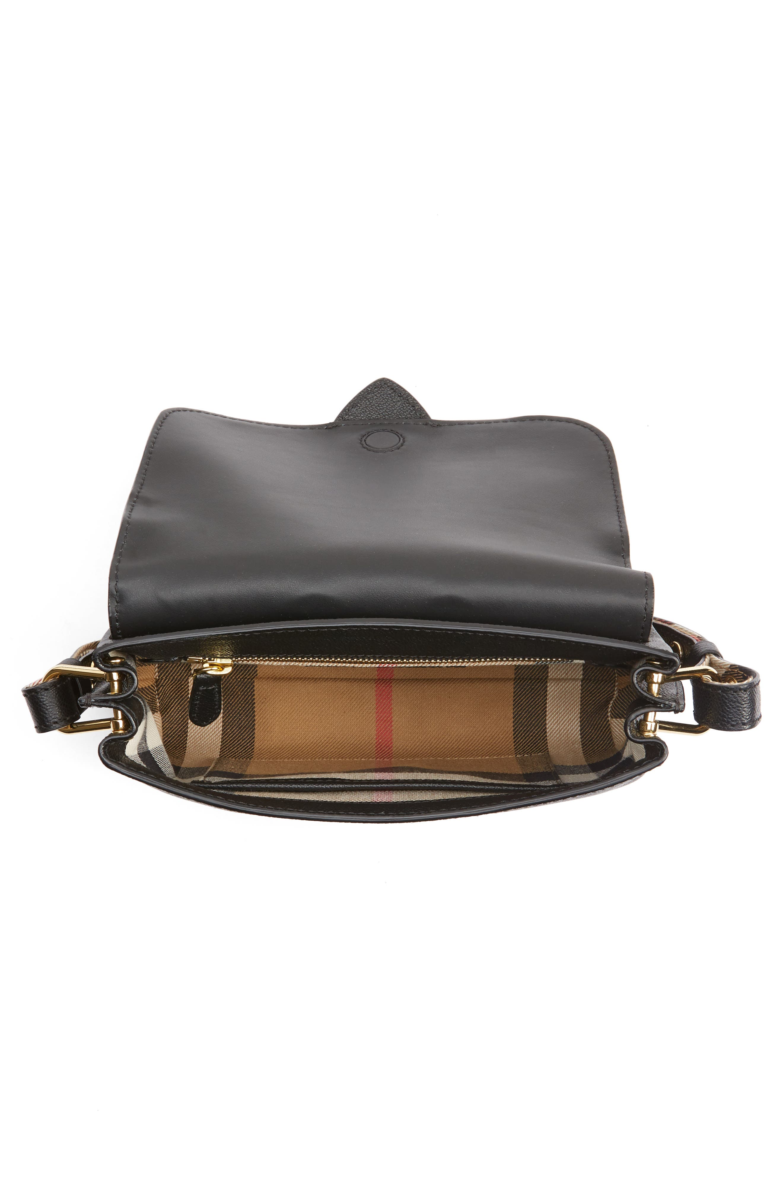 Alternate Image 4  - Burberry Small Medley Leather Crossbody Bag