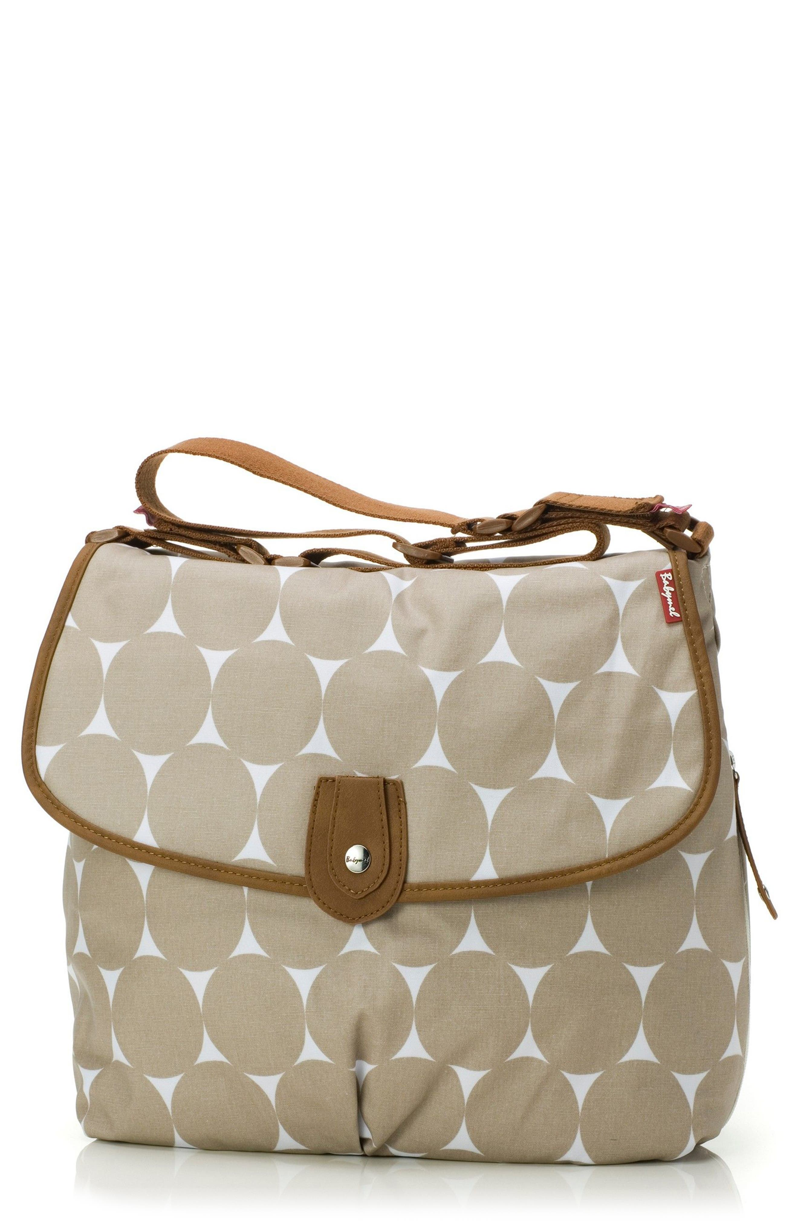Alternate Image 1 Selected - Babymel 'Satchel' Diaper Bag