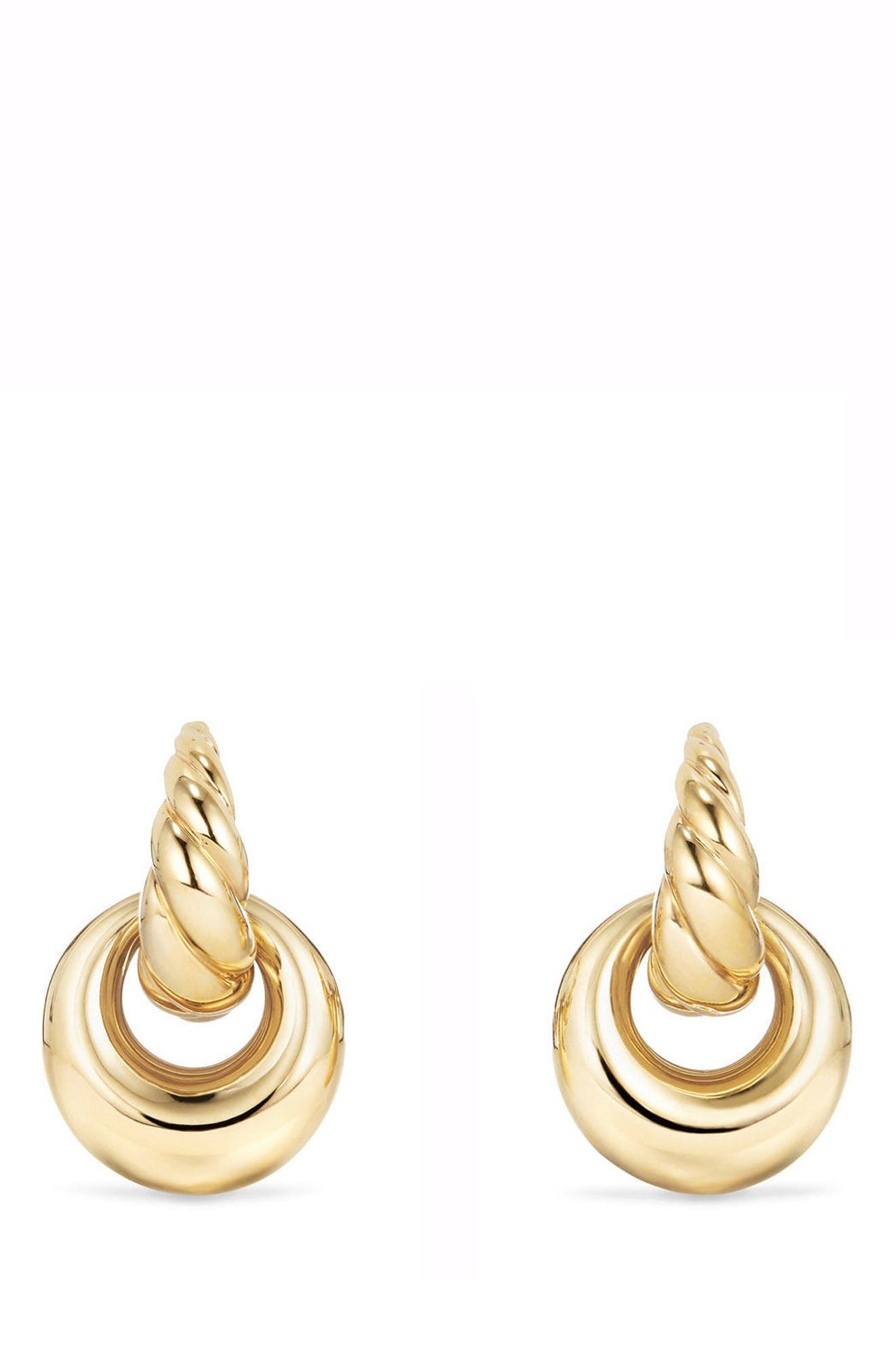 DAVID YURMAN Pure Form<sup>®</sup> Drop Earrings in 18K Yellow Gold
