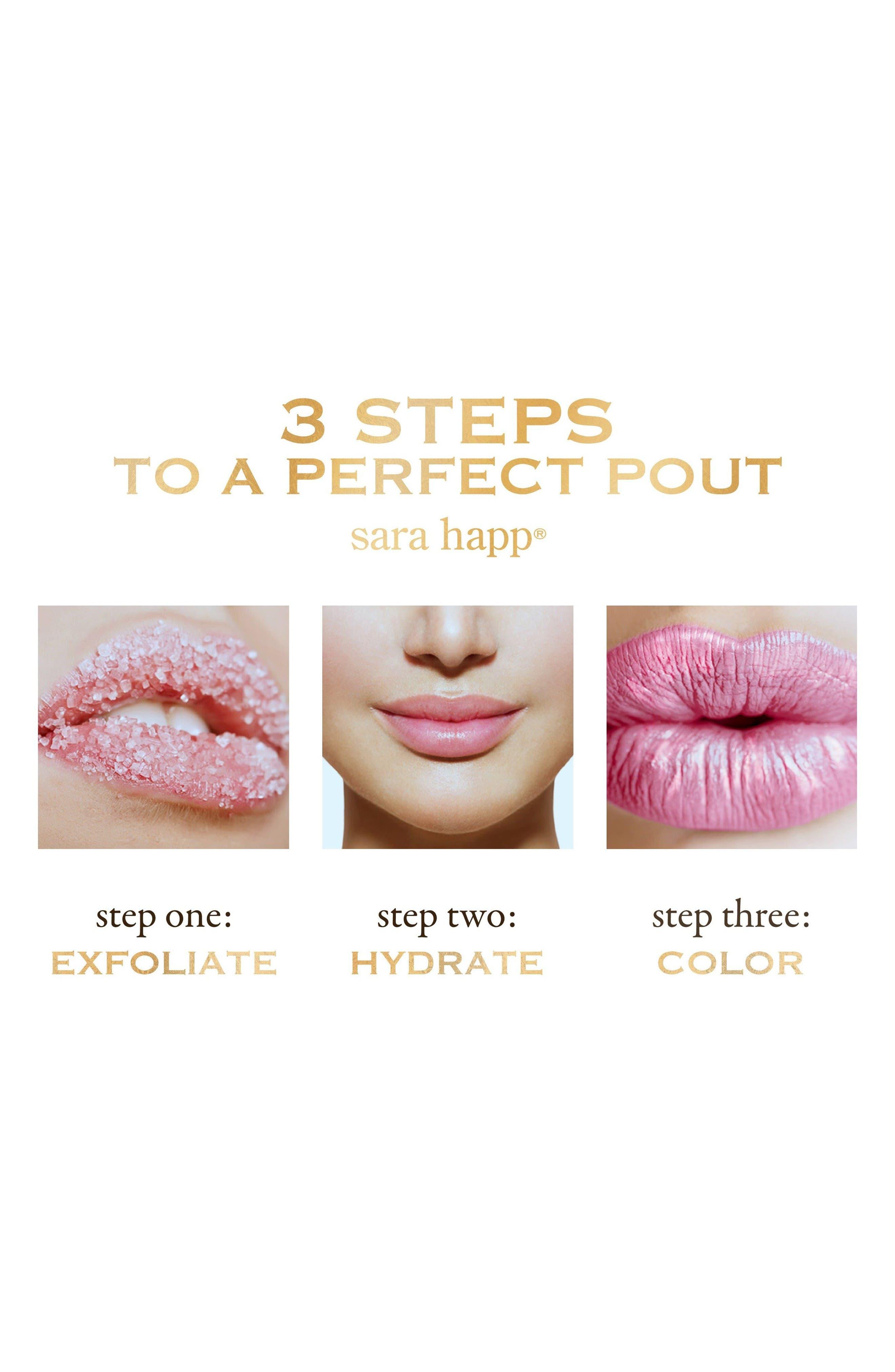 Alternate Image 3  - sara happ® The Lip Scrub™ Vanilla Bean Lip Exfoliator