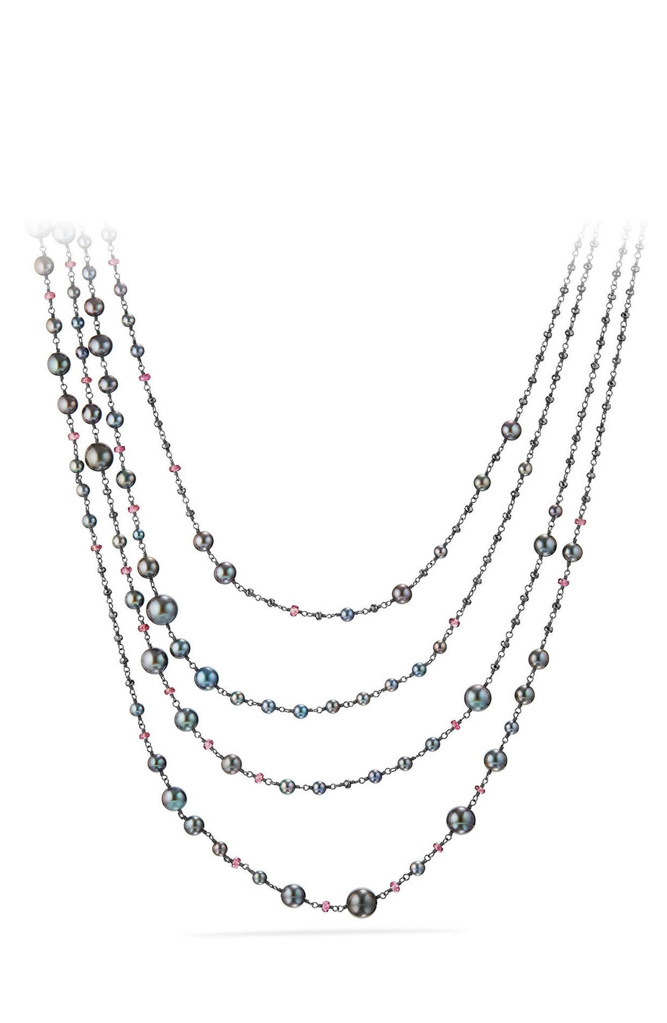 David Yurman Solari Pearl & Bead Multistrand Necklace