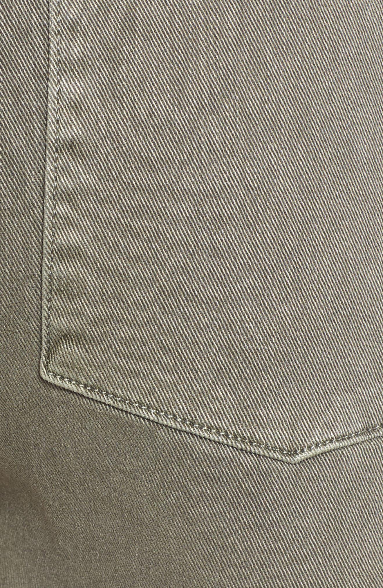 Alternate Image 5  - Hudson Jeans MKA Military High Waist Shorts