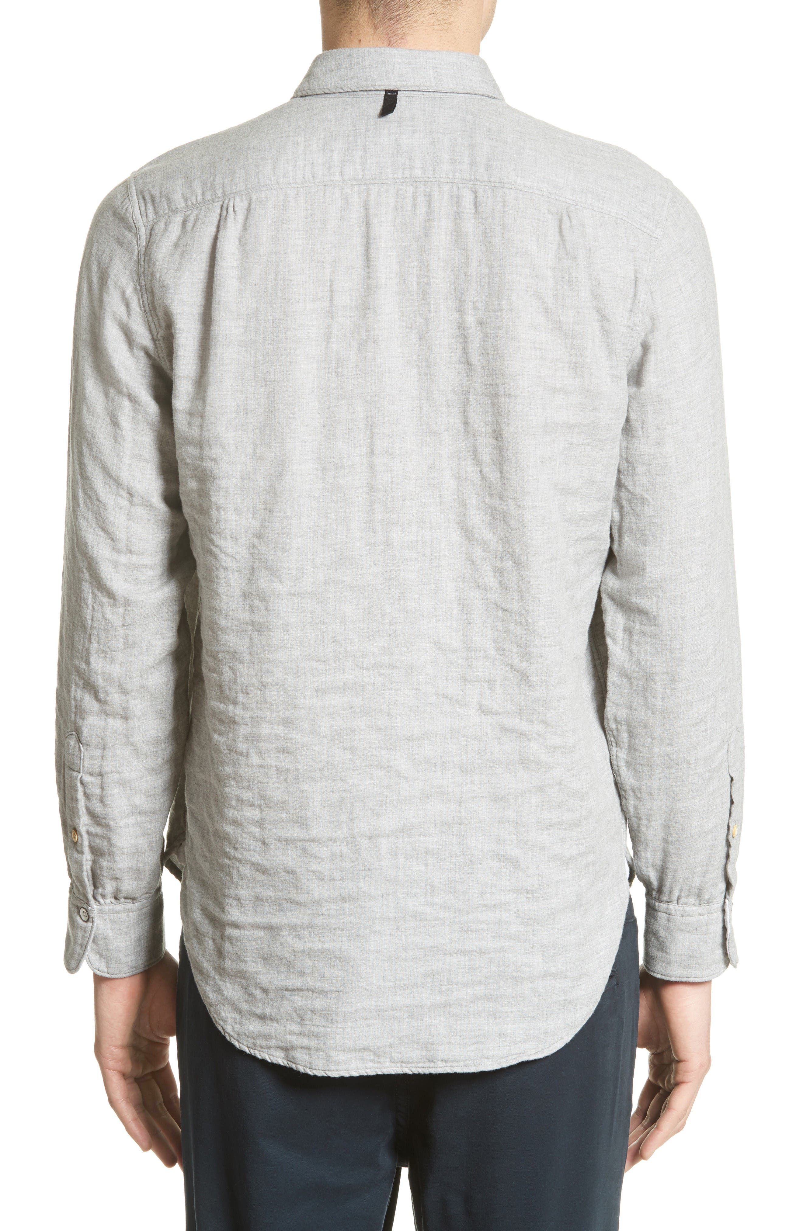 Alternate Image 2  - rag & bone Beach Trim Fit Sport Shirt