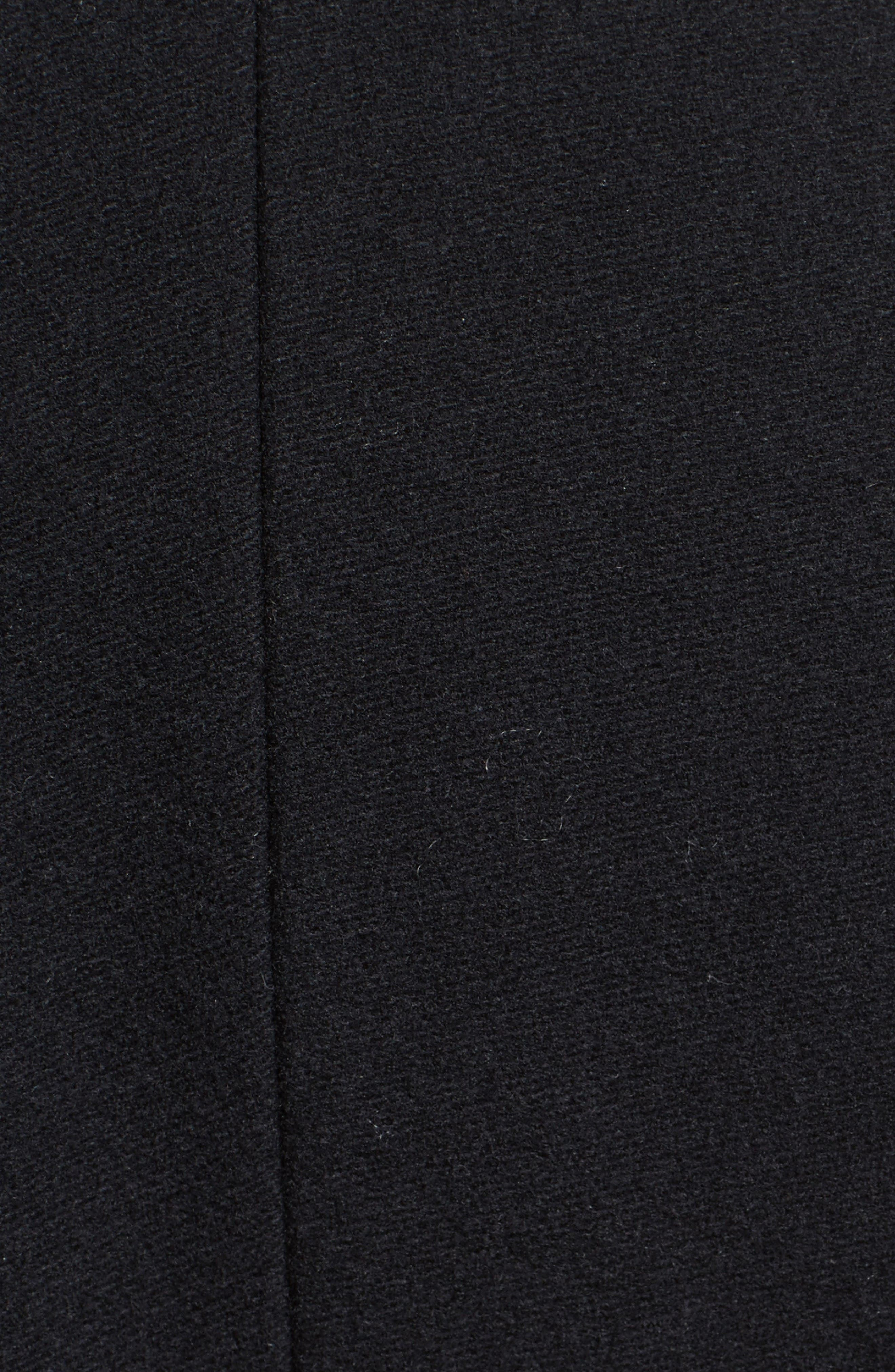 Alvingham Wool Blend Jacket,                             Alternate thumbnail 3, color,                             Black