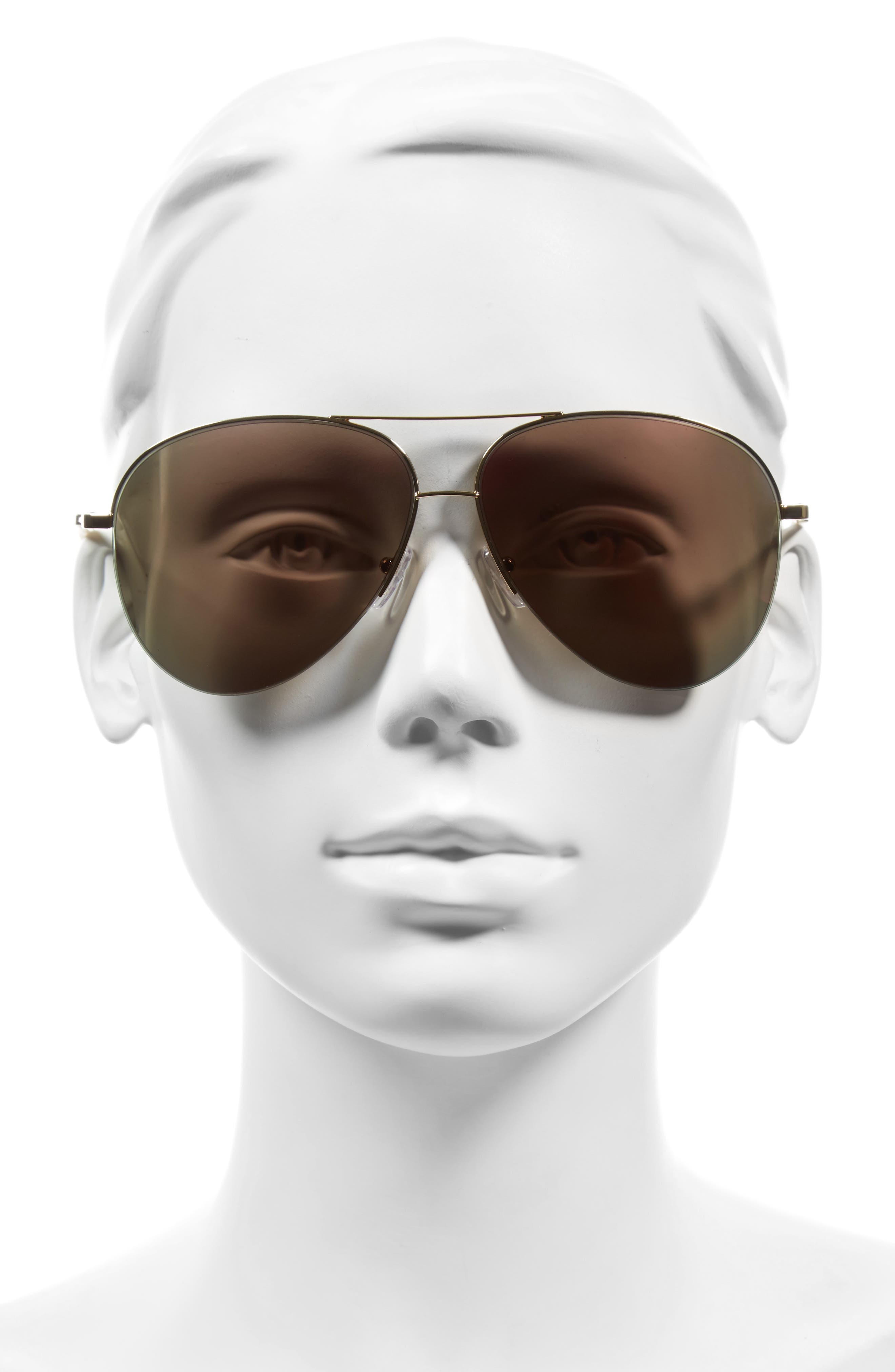 Alternate Image 2  - Victoria Beckham Classic Victoria 62mm Sunglasses