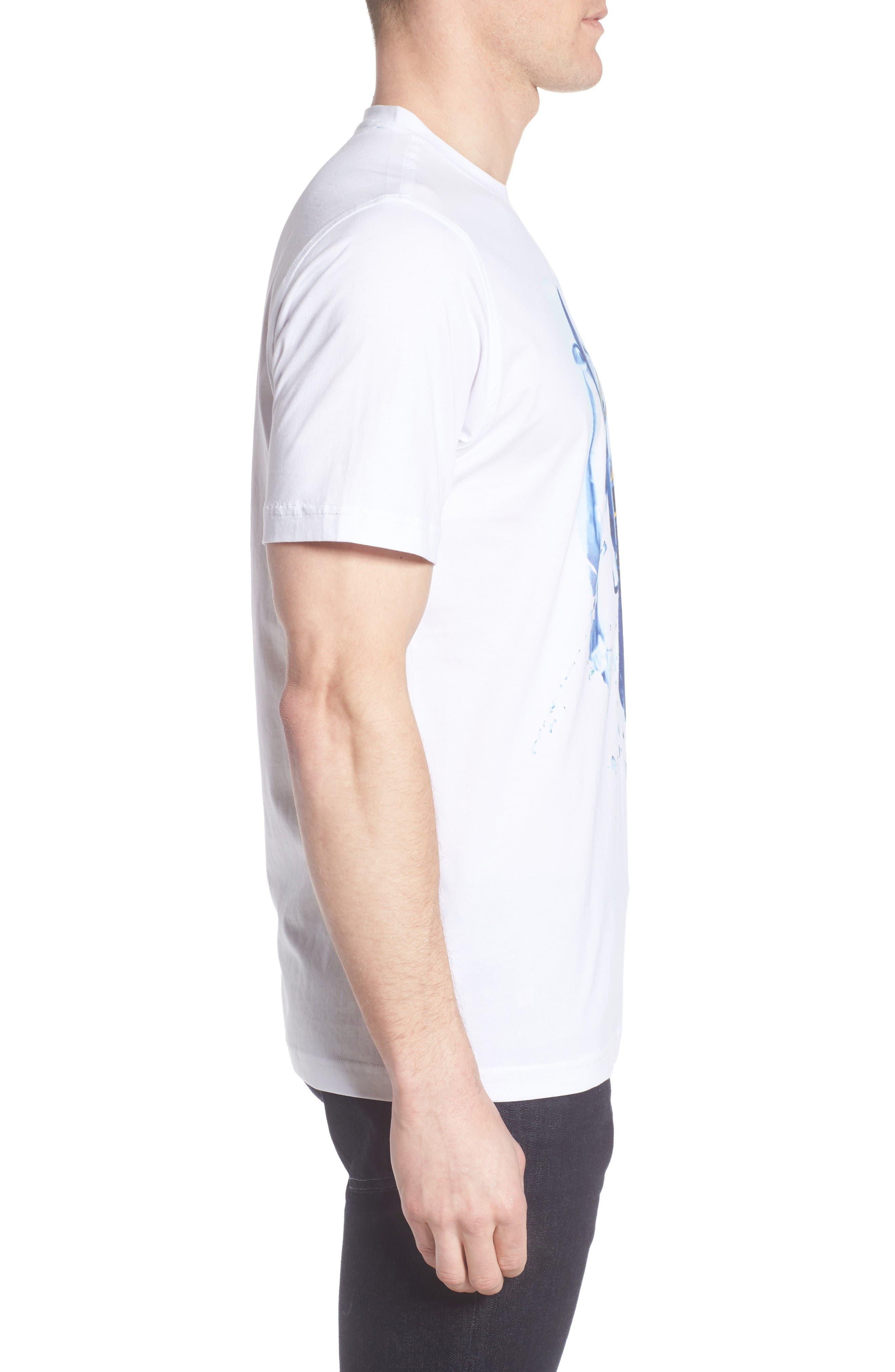 Alternate Image 3  - Bugatchi Graphic T-Shirt