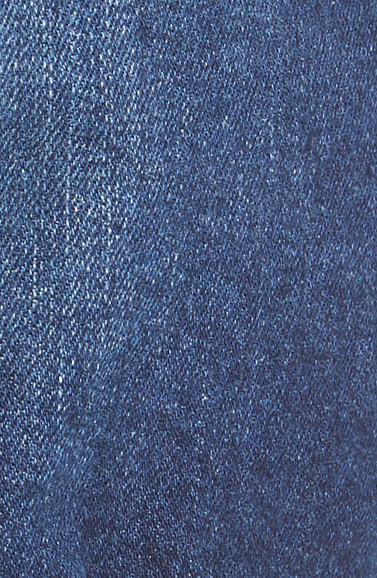 Alternate Image 5  - Mavi Jeans Marla Roll Cuff Denim Shorts