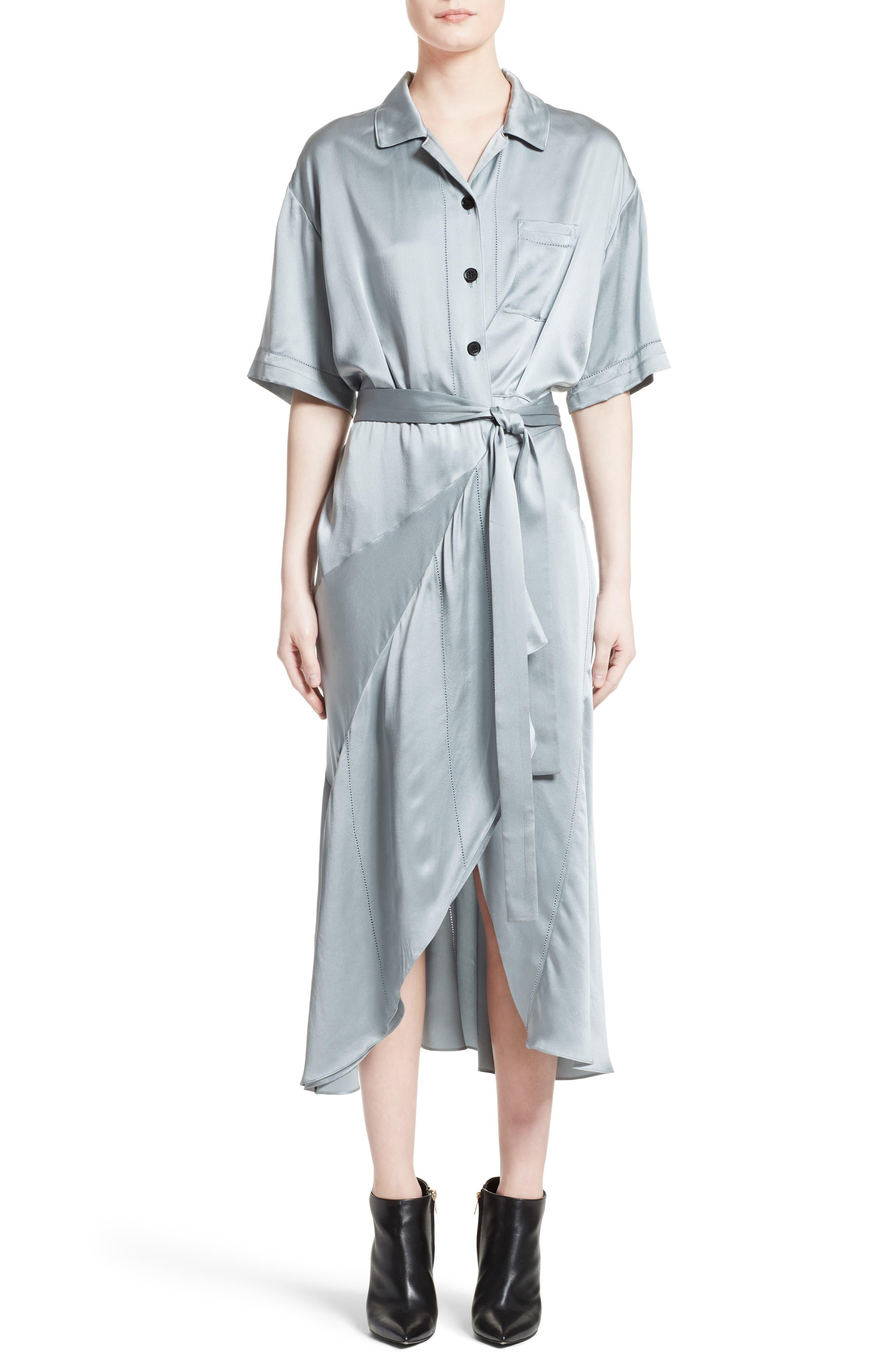 Burberry Emily Silk Shirtdress