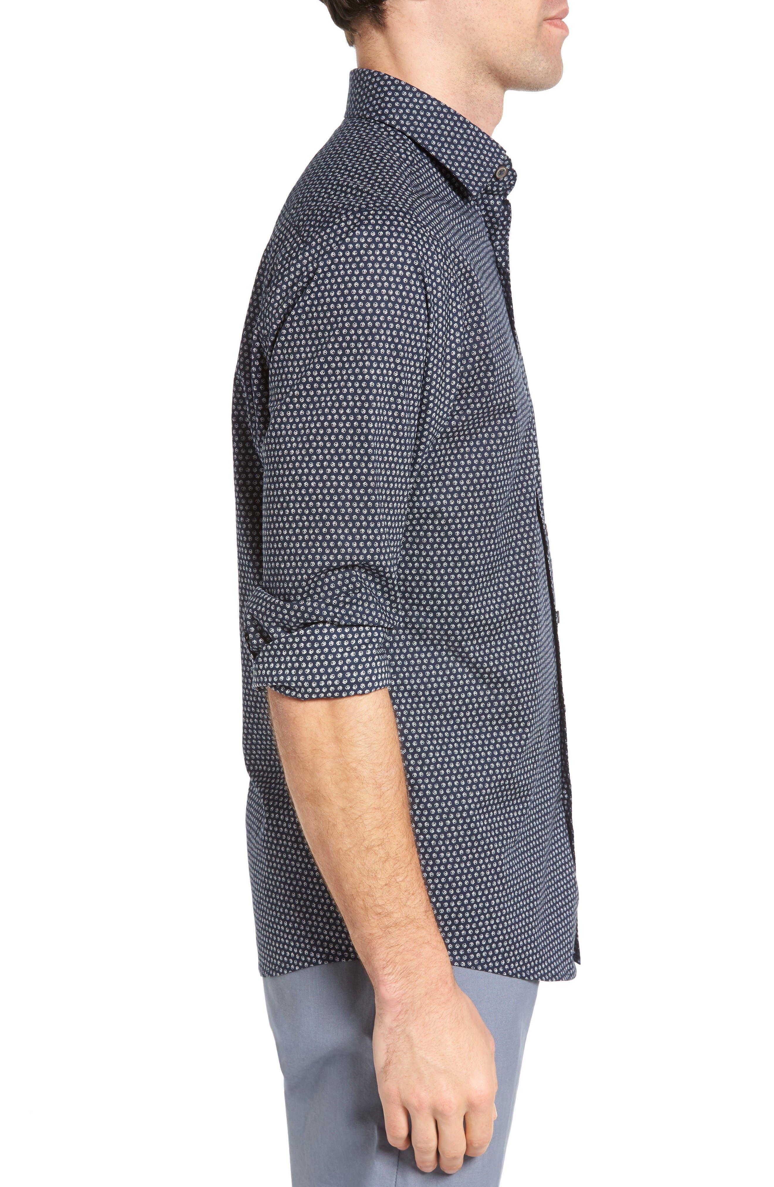 Alternate Image 3  - Rodd & Gunn Swinford Sports Fit Sport Shirt
