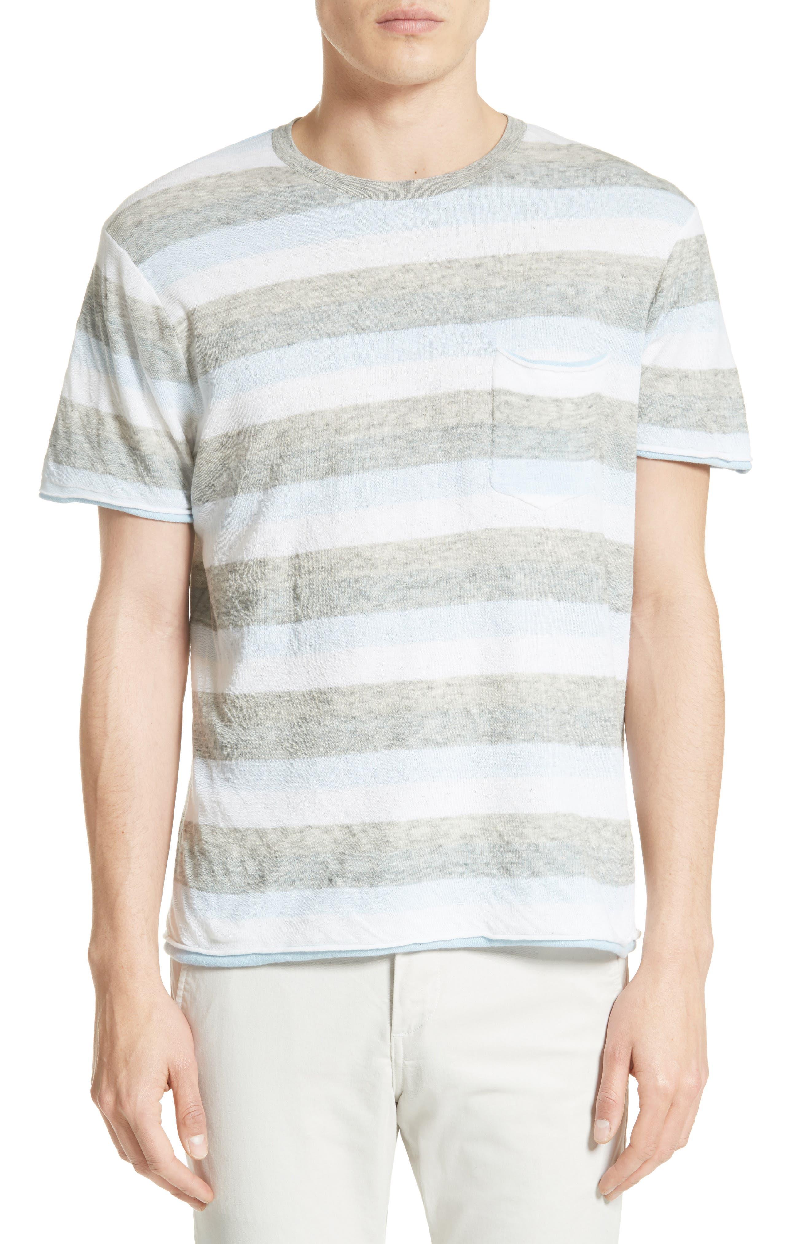 Alternate Image 1 Selected - rag & bone Tripp Cotton & Wool T-Shirt