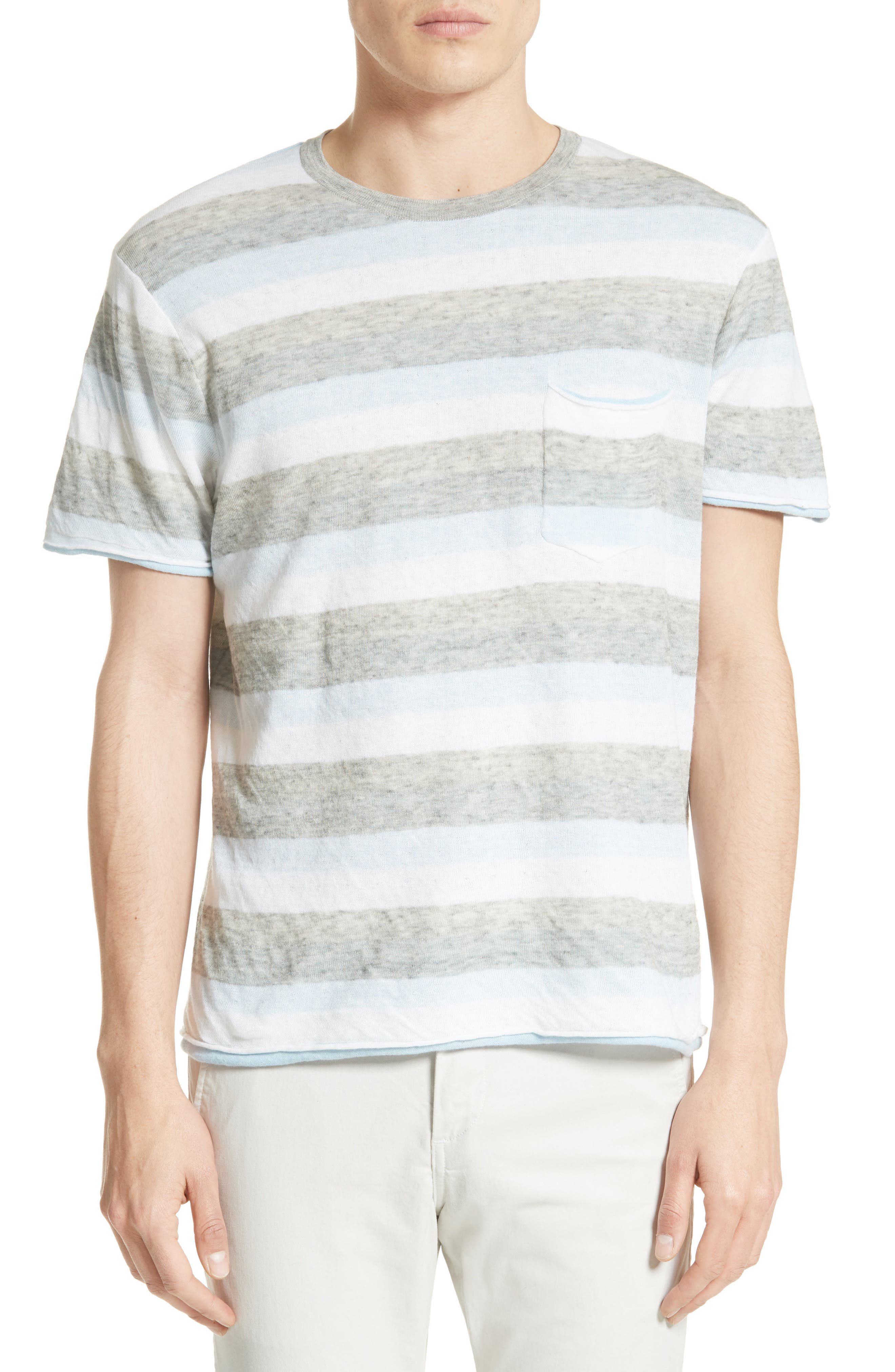 Main Image - rag & bone Tripp Cotton & Wool T-Shirt