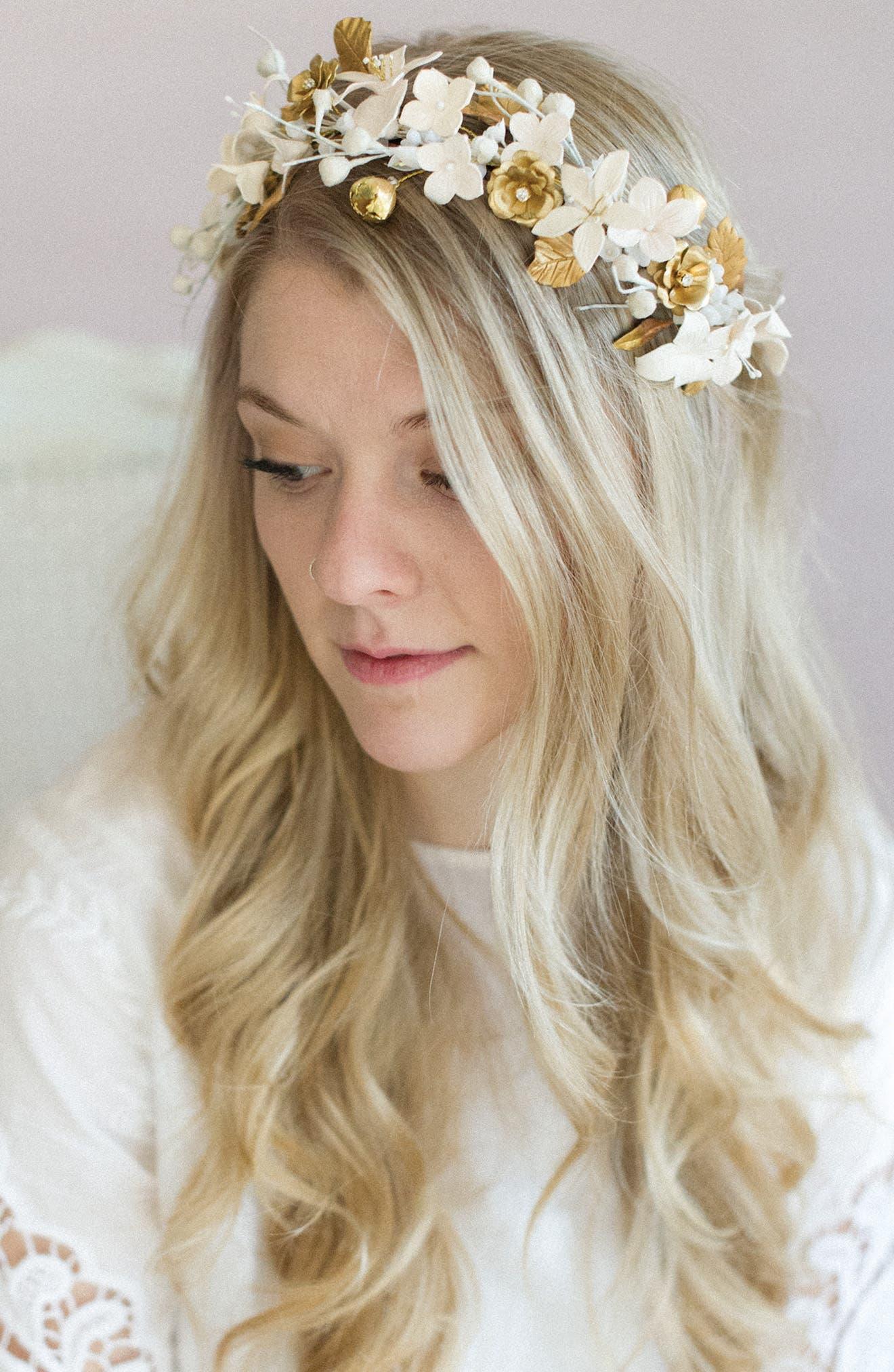 Alternate Image 1 Selected - twigs & honey Woodland Flora Headband