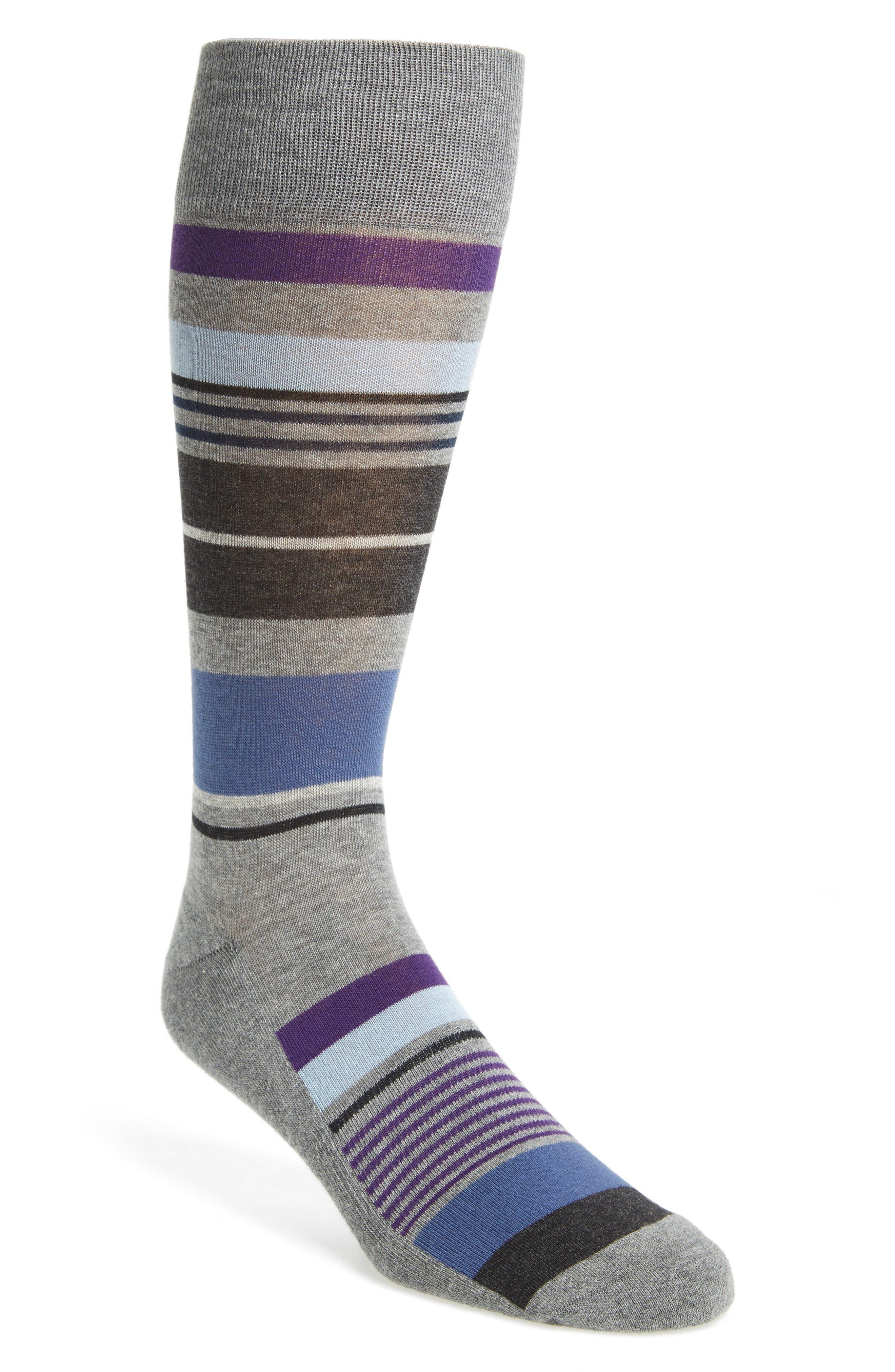 Nordstrom Men's Shop Bright Stripe Socks