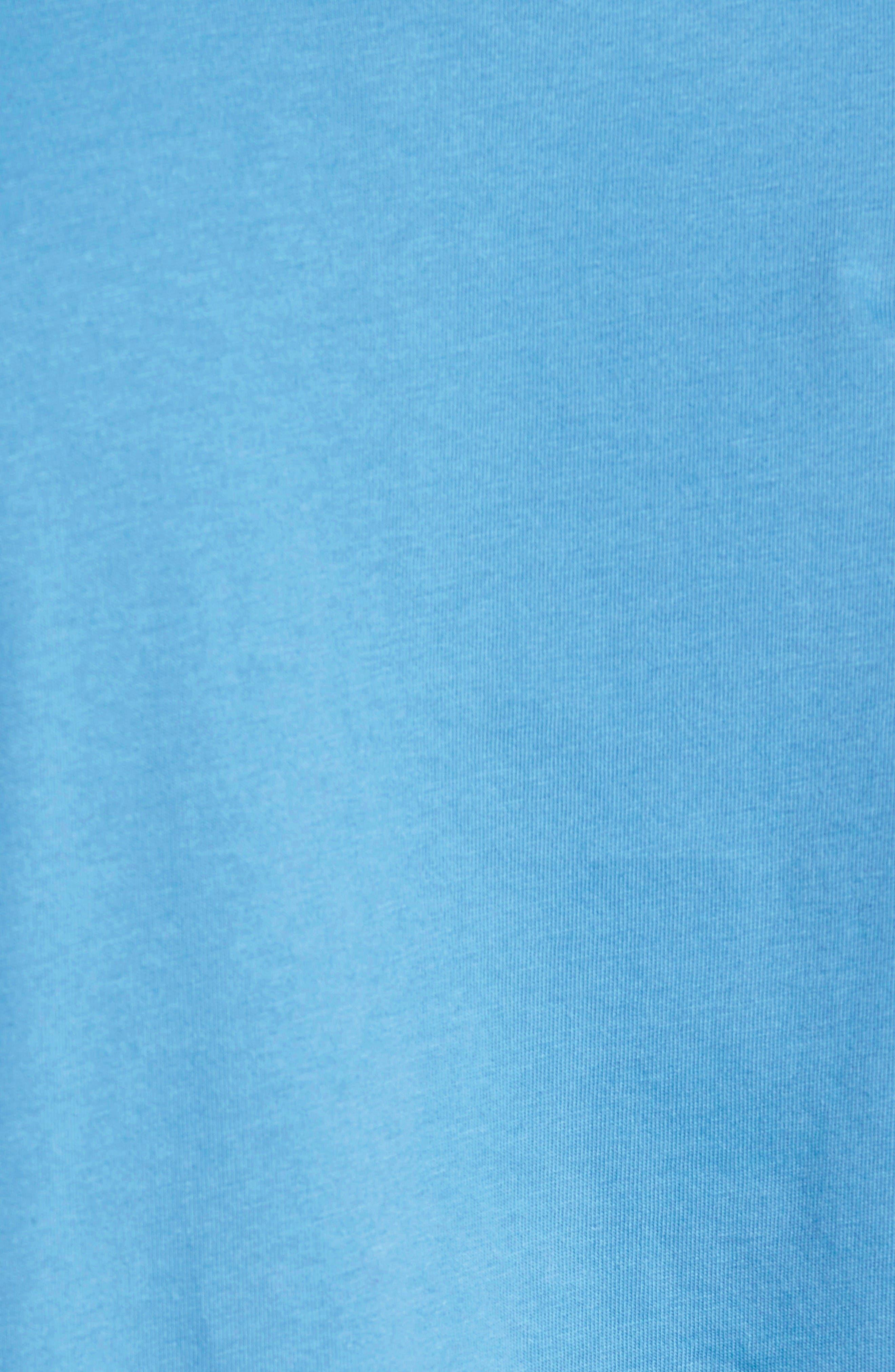 'Trout Fitz Roy' Organic Cotton Polo,                             Alternate thumbnail 12, color,                             Radar Blue
