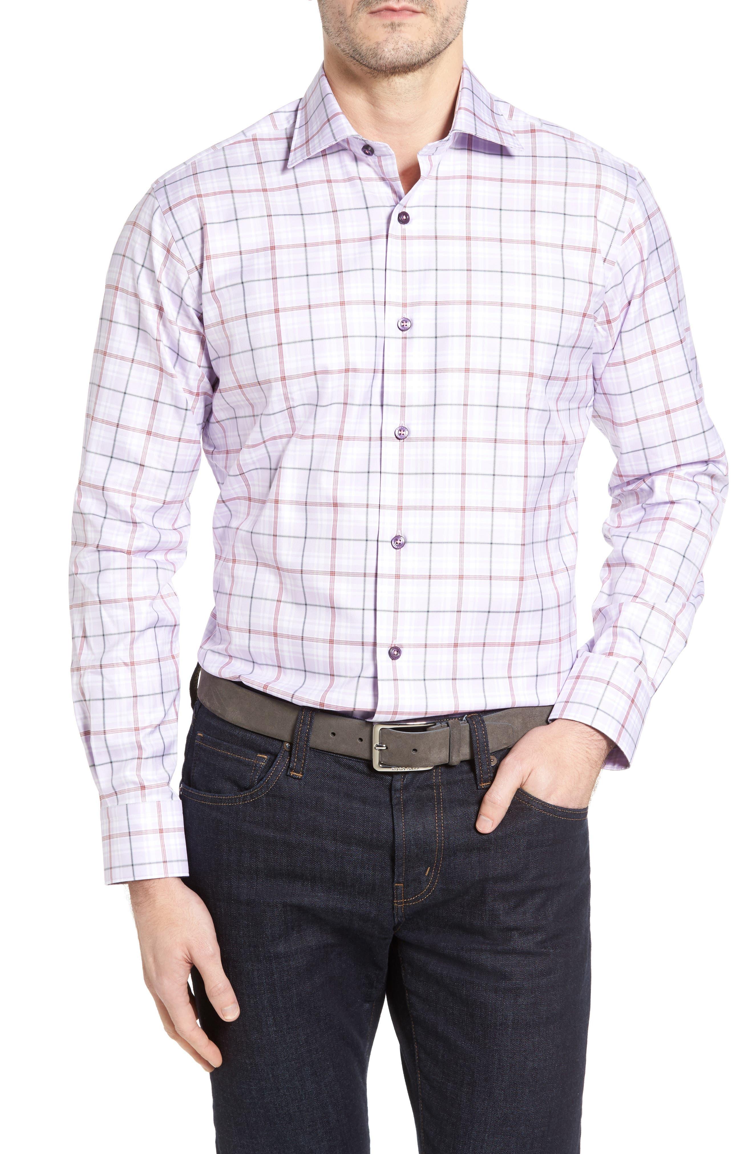 Alternate Image 1 Selected - Robert Talbott Crespi IV Tailored Fit Sport Shirt