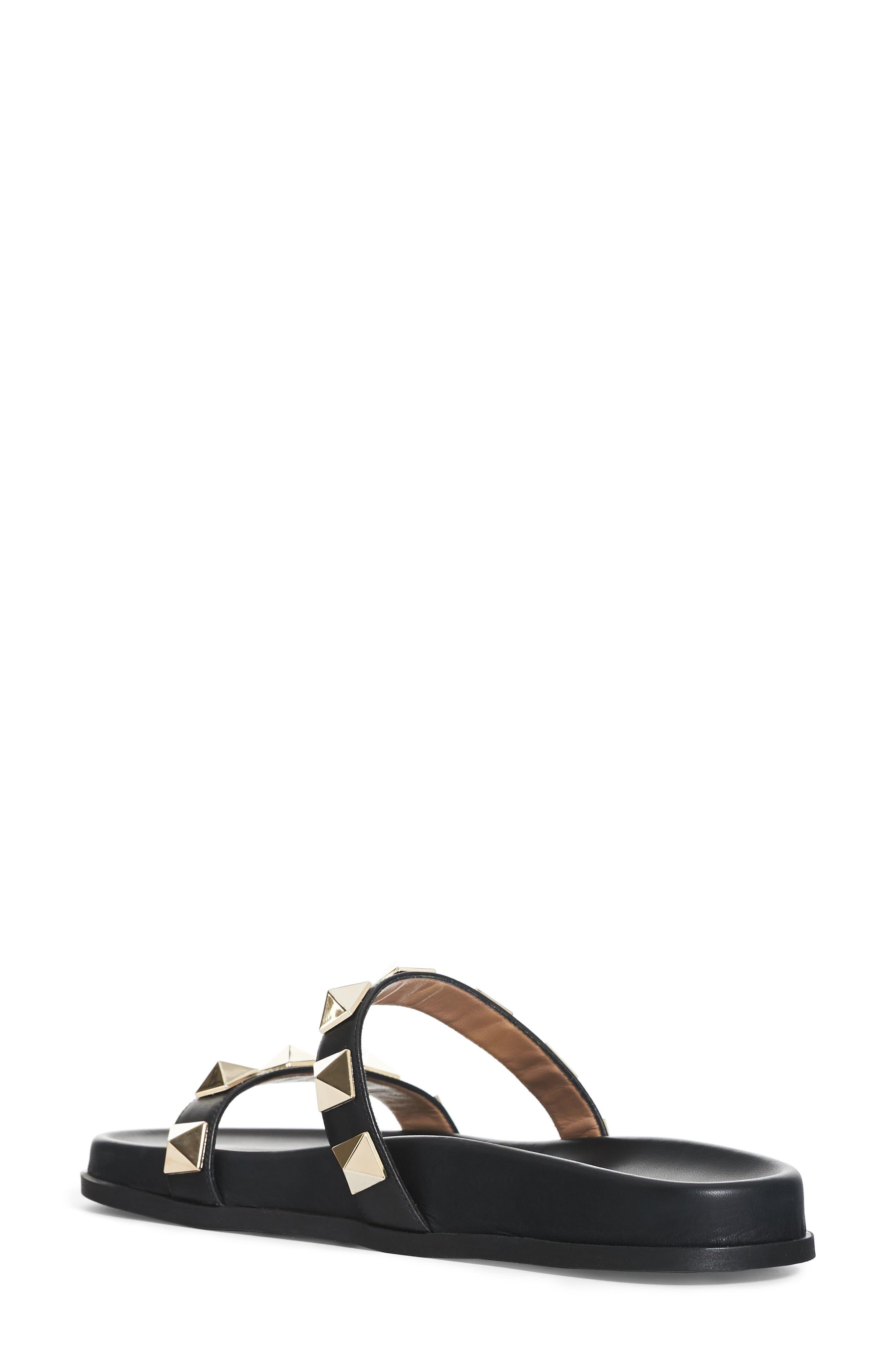 Alternate Image 2  - VALENTINO GARAVANI Rockstud Lock Slide Sandal (Women)