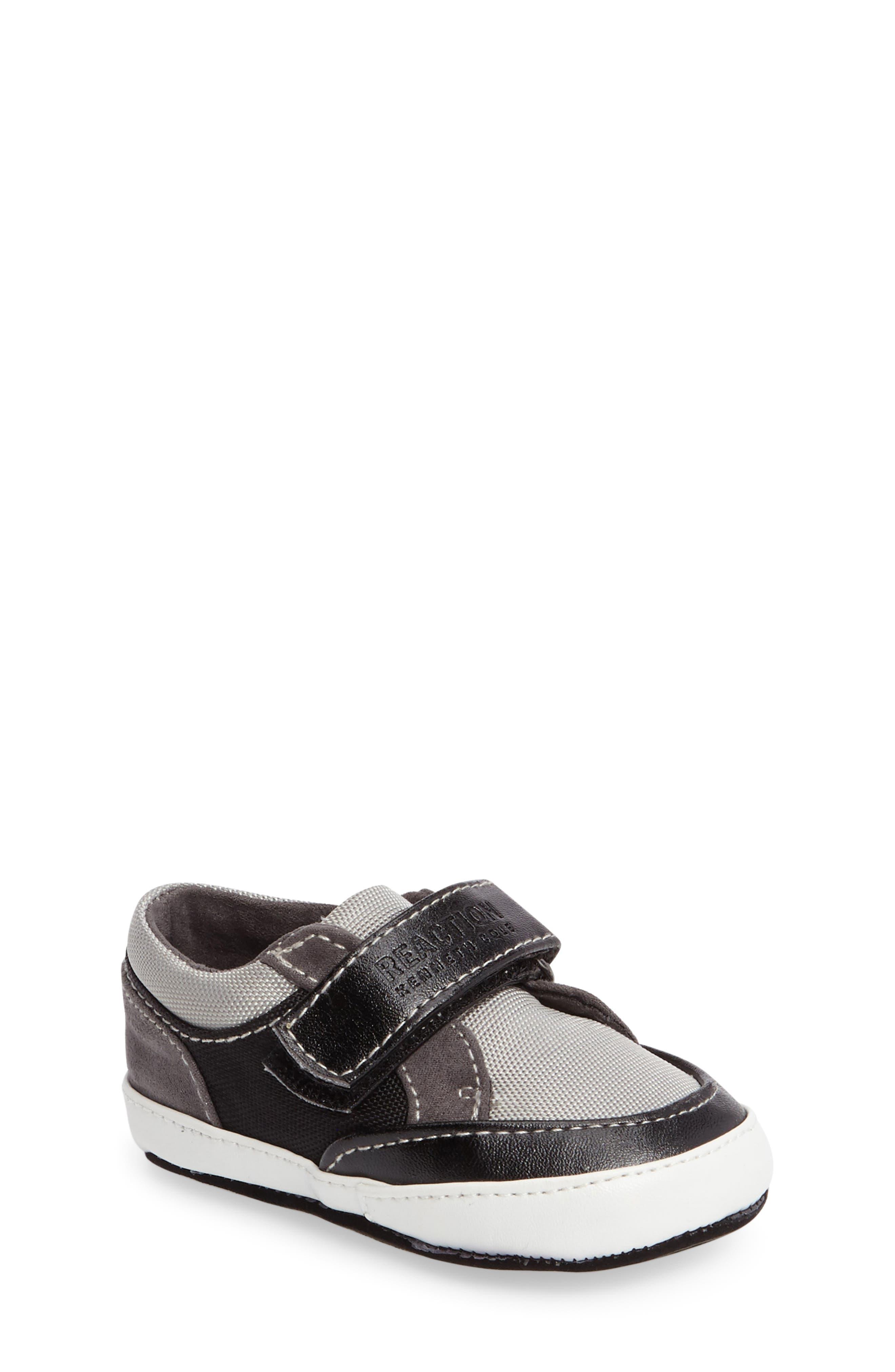 Danny Sneaker,                             Main thumbnail 1, color,                             Black/ Grey