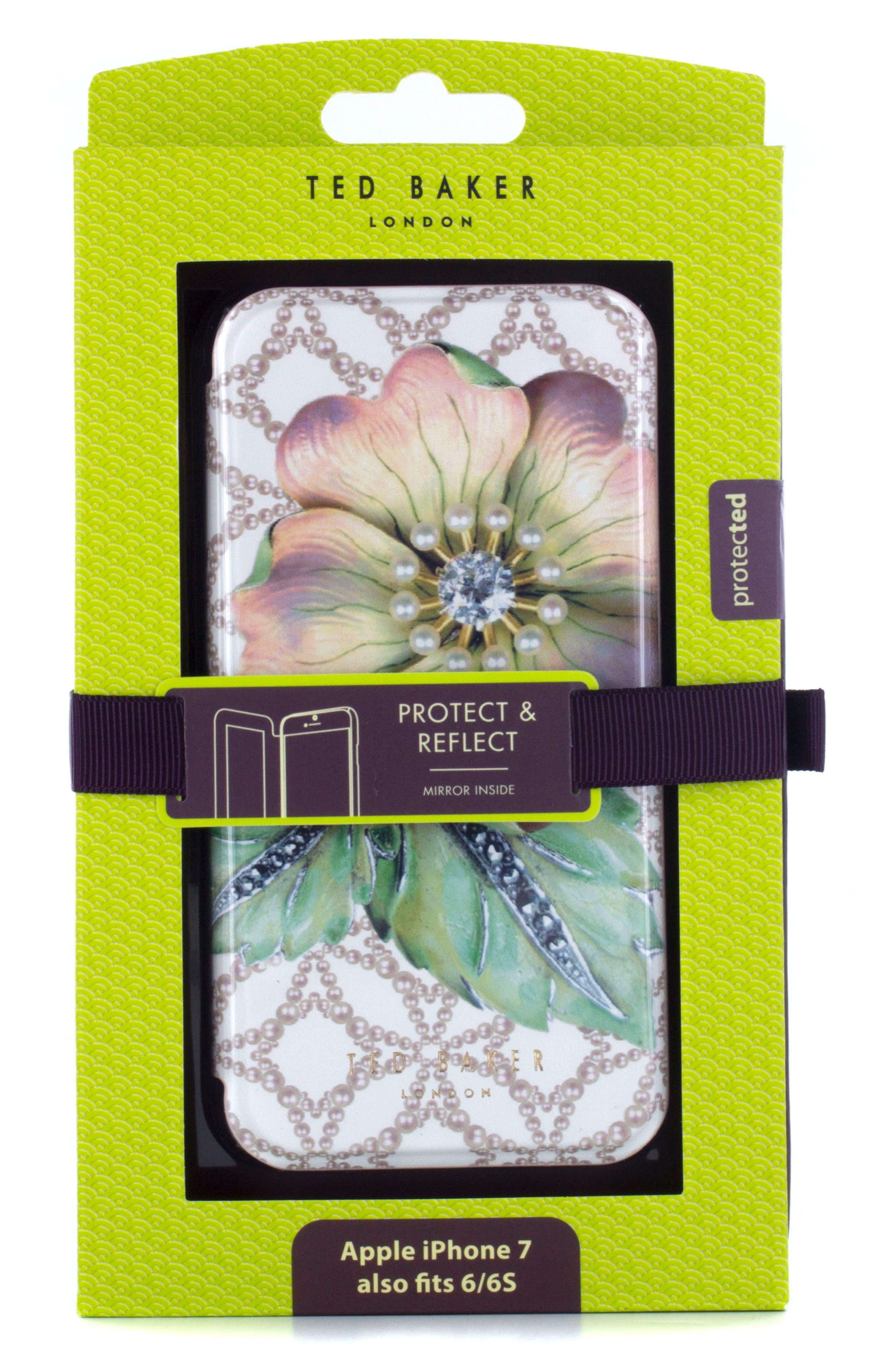Mavis iPhone 6/6s/7/8 Plus Mirror Folio Case,                             Alternate thumbnail 5, color,                             Multi