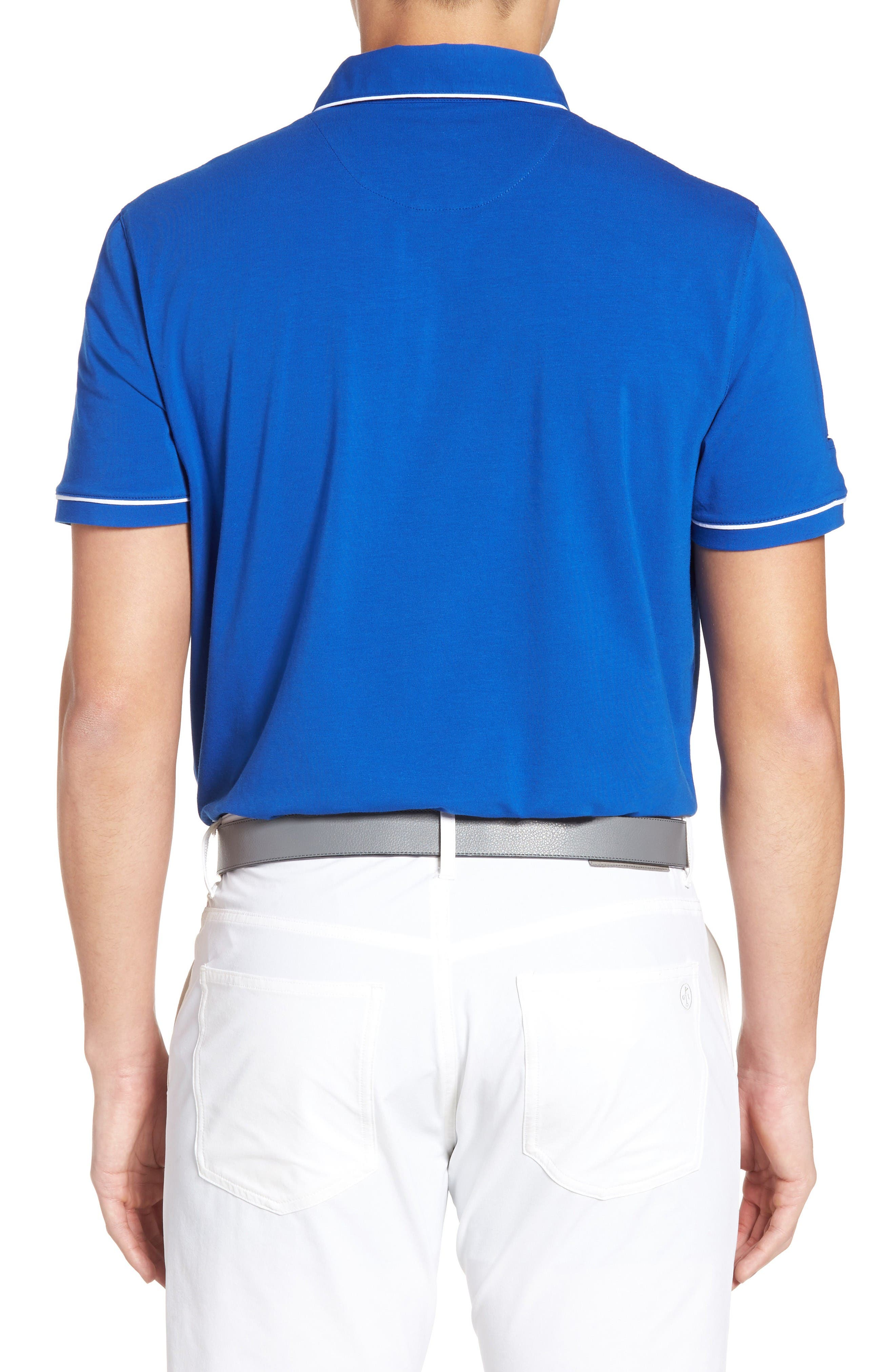 Alternate Image 2  - Ted Baker London Playgo Piped Trim Golf Polo