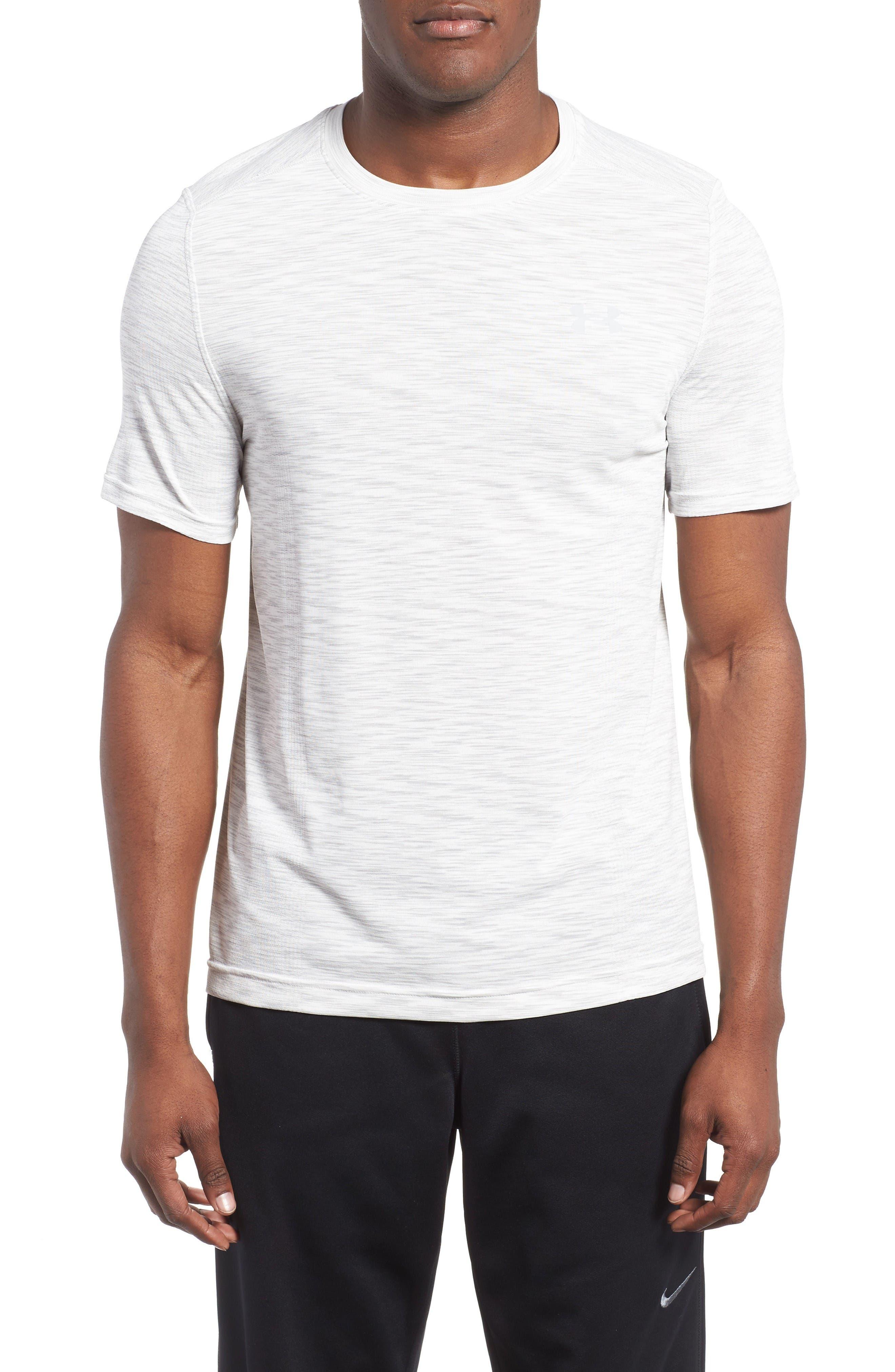Threadborne Regular Fit T-Shirt,                             Main thumbnail 1, color,                             White