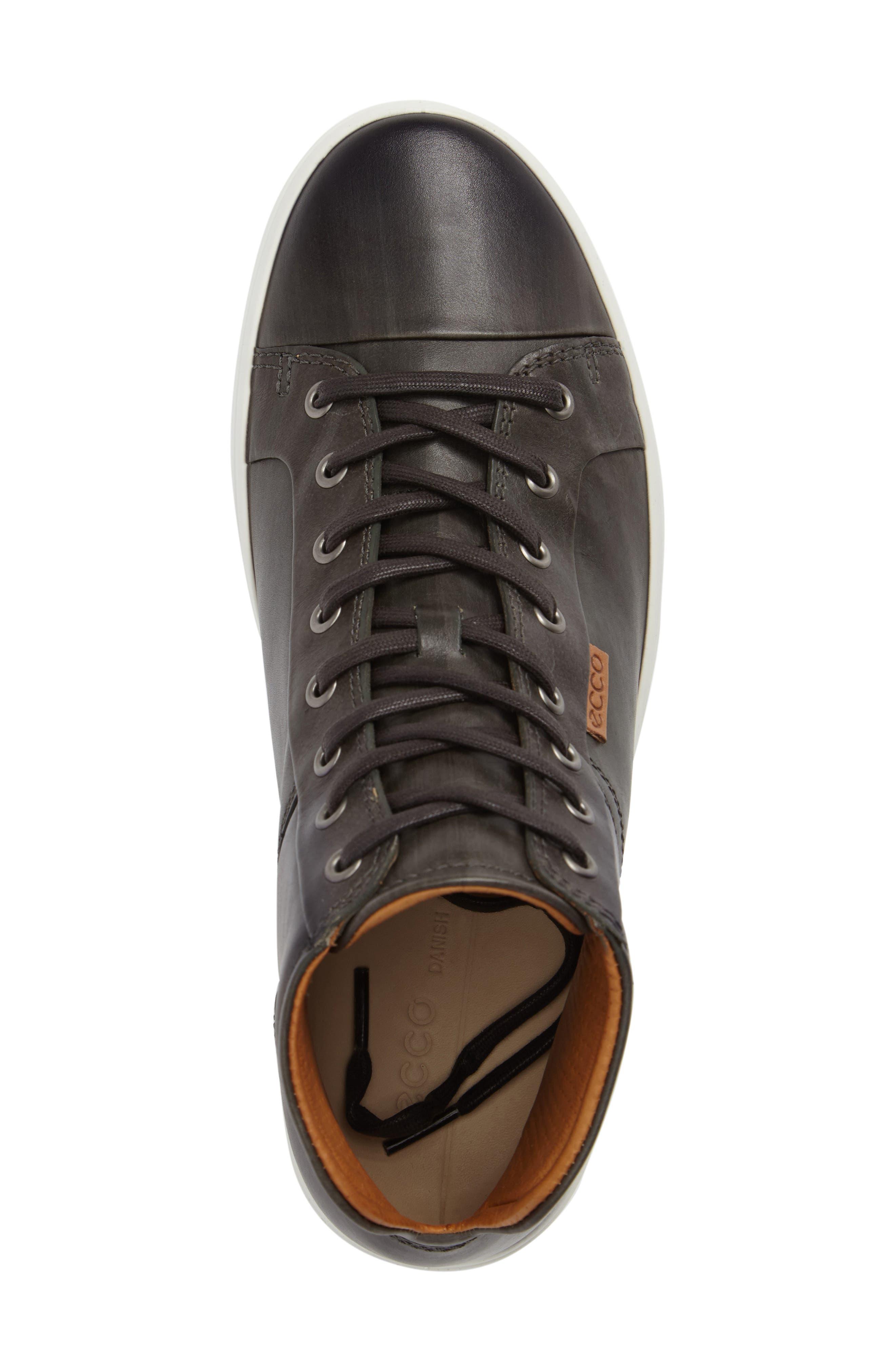 Alternate Image 5  - ECCO Soft 7 High Top Sneaker (Men)
