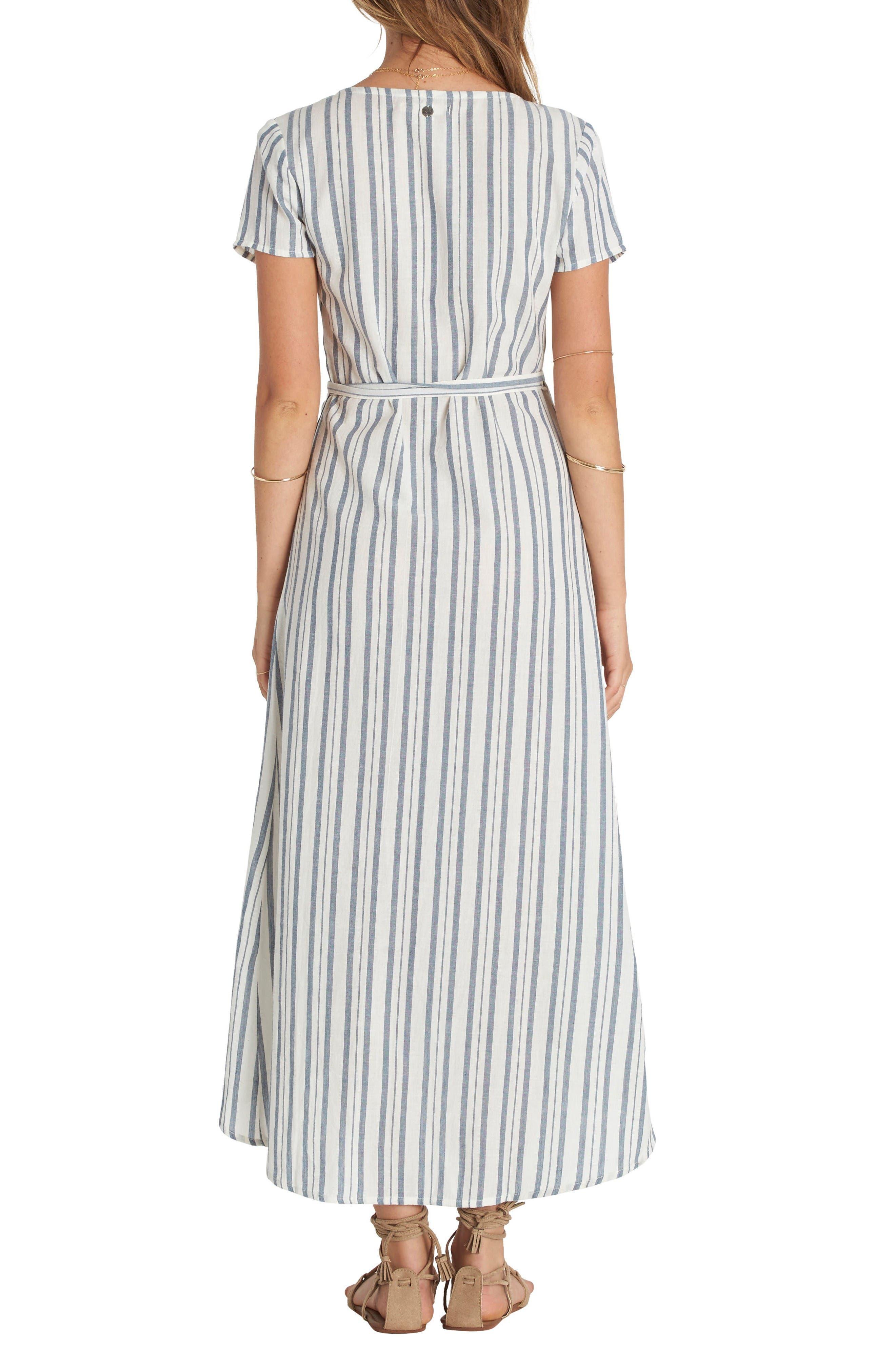 Alternate Image 2  - Billabong Right Side Wrap Midi Dress