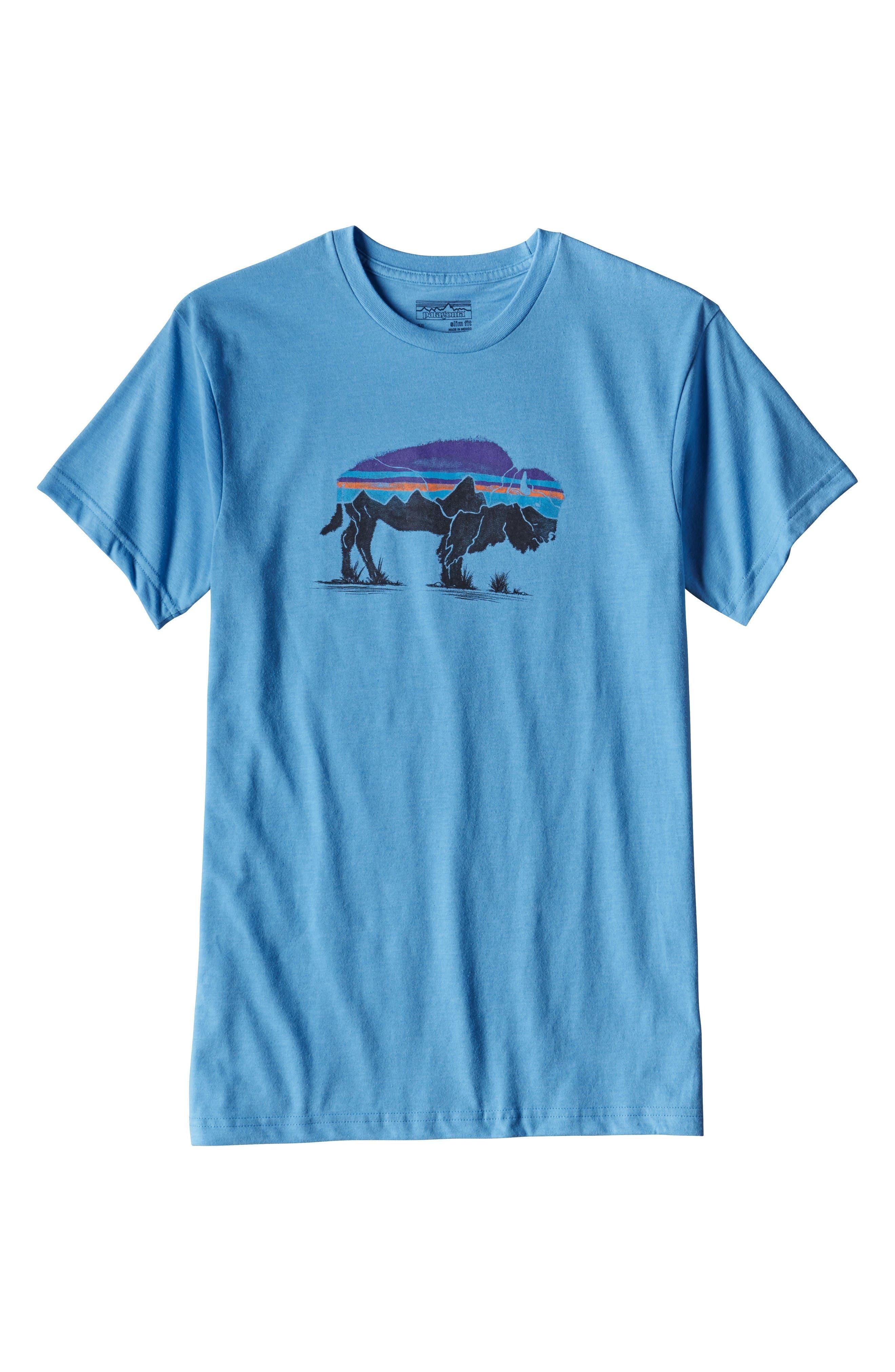 Alternate Image 5  - Patagonia Fitz Roy Bison T-Shirt