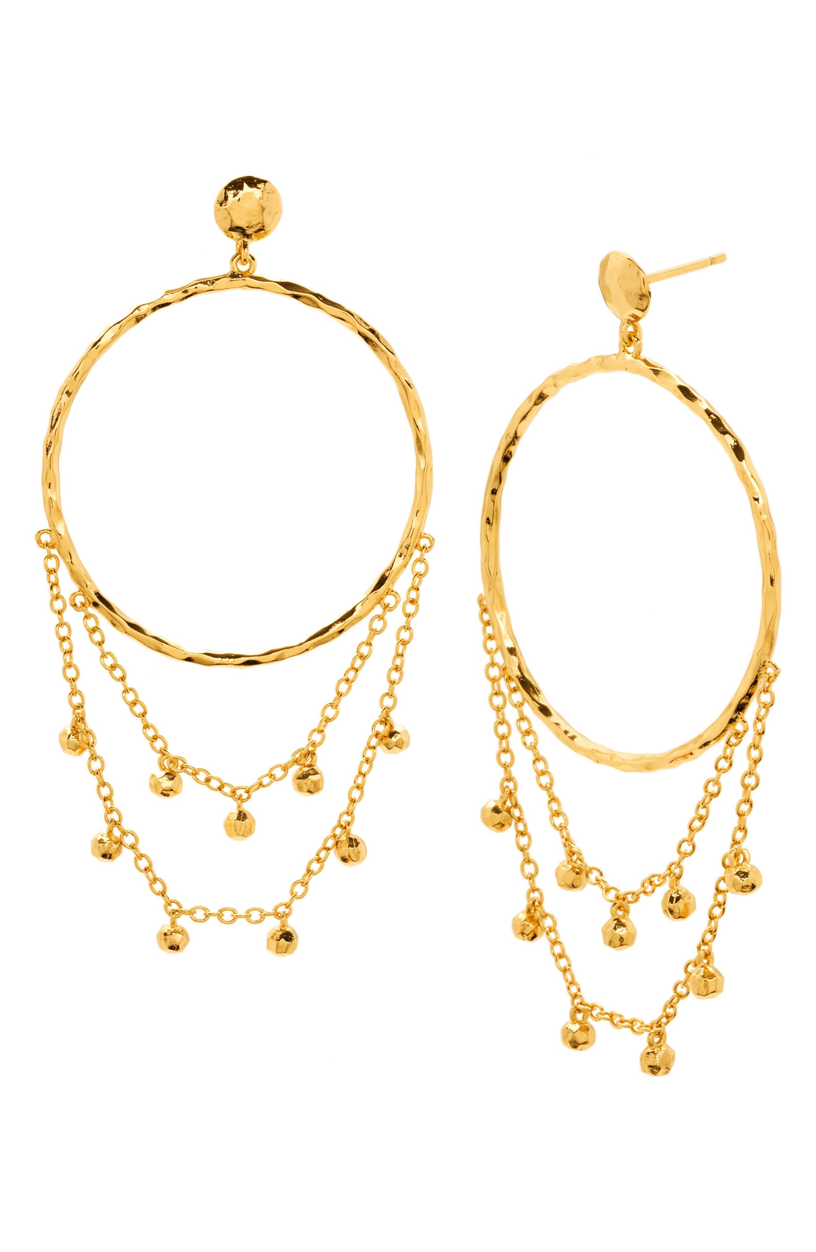 GORJANA Sol Drop Earrings