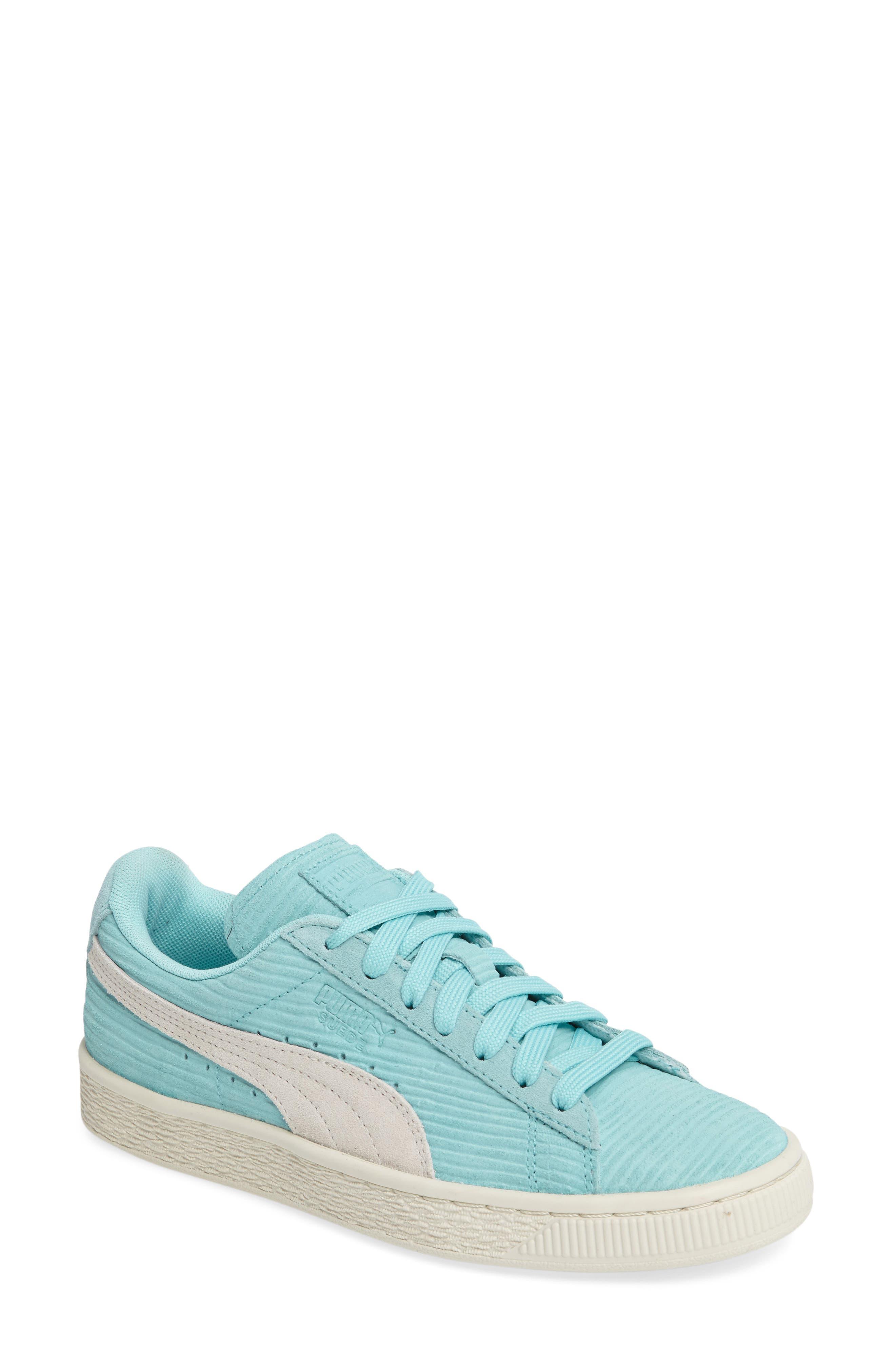 Alternate Image 1 Selected - PUMA Suede Classic Embossed Sneaker (Women)