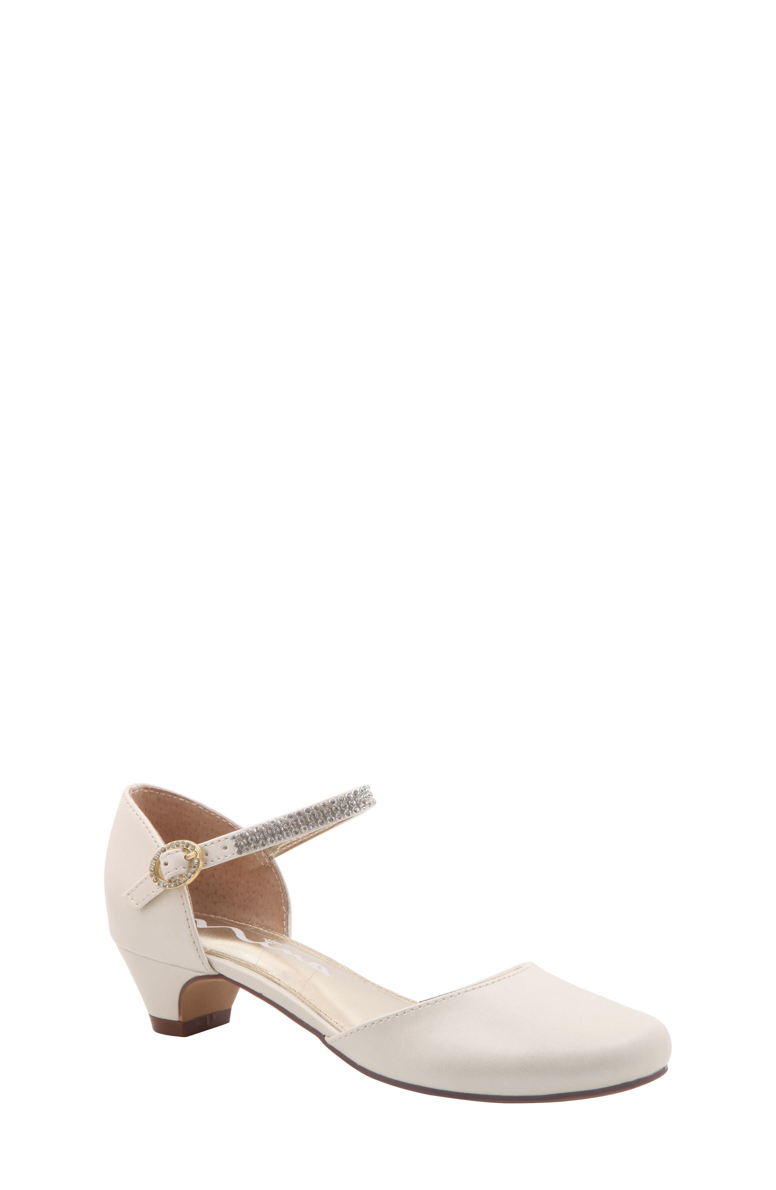Alternate Image 1 Selected - Nina Cera Low Embellished Pump (Toddler, Little Kid & Big Kid)