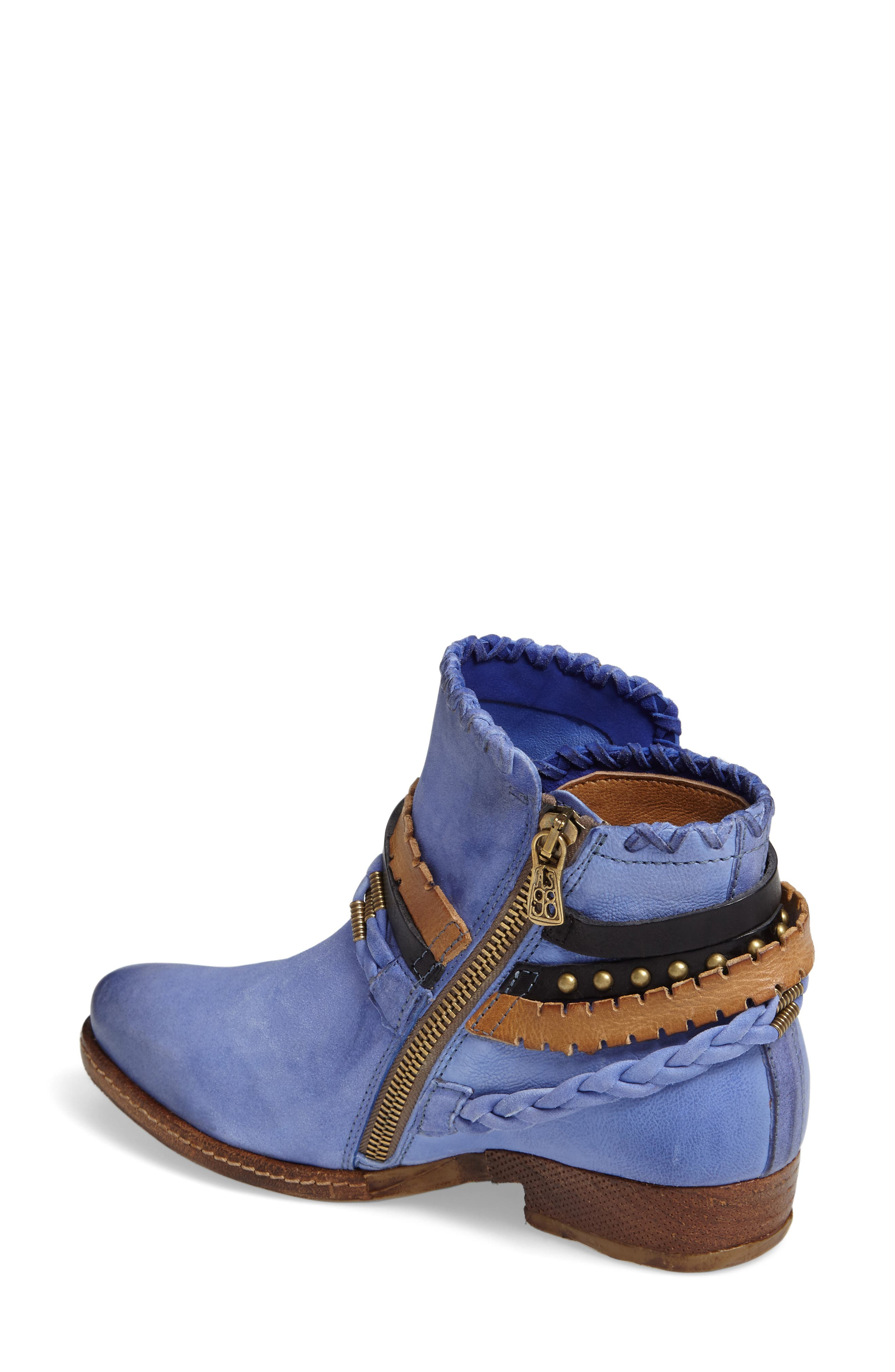 A.S. 98 Barney Bootie,                             Alternate thumbnail 2, color,                             Blue Leather