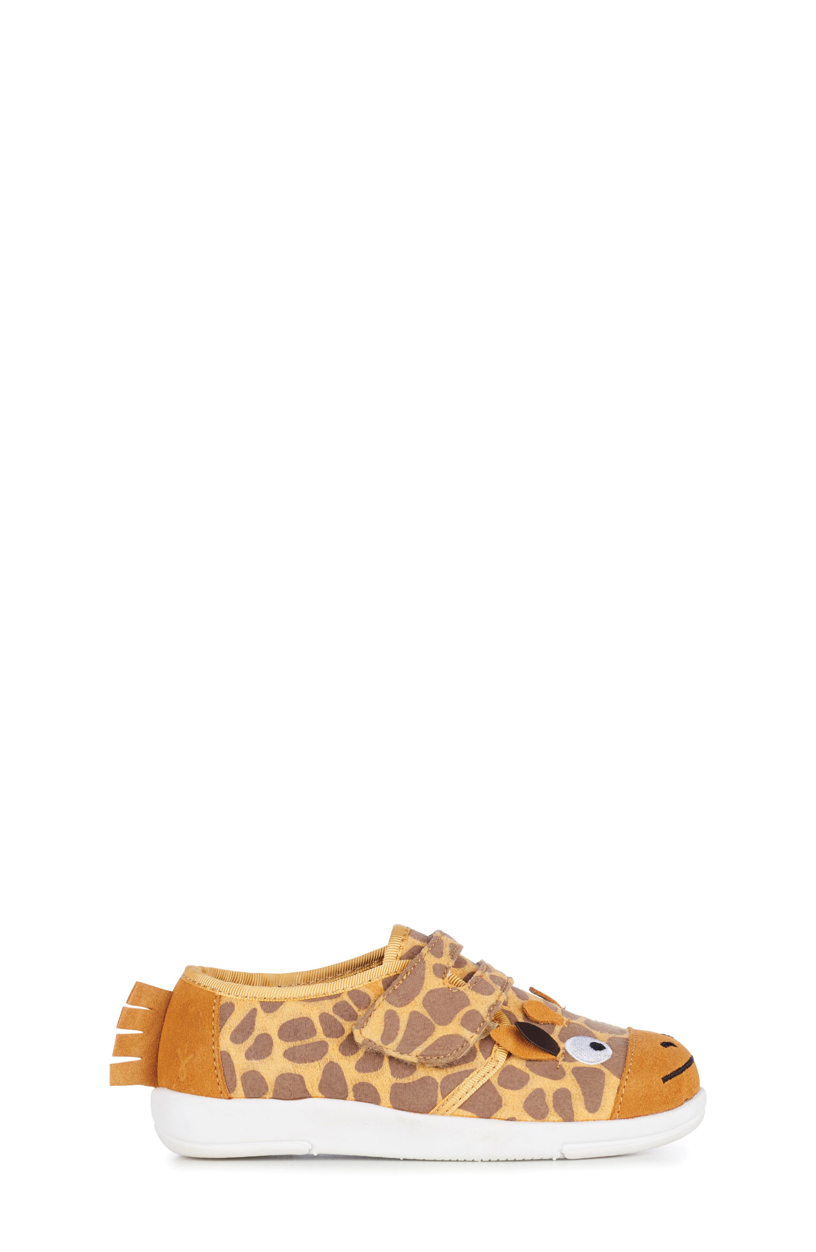 Giraffe Sneaker,                             Alternate thumbnail 3, color,                             Yellow