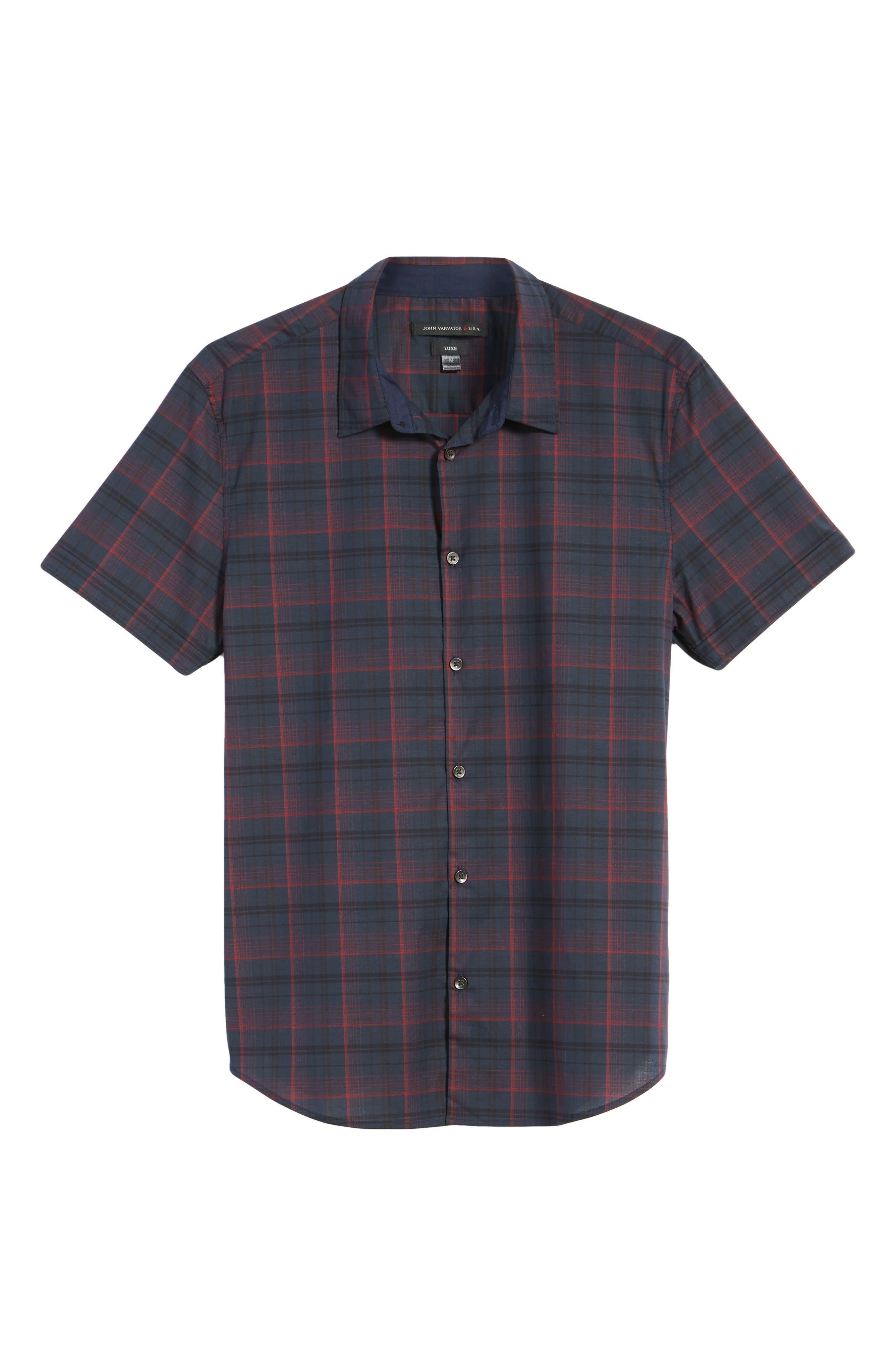 Alternate Image 5  - John Varvatos Star USA Cotton Sport Shirt