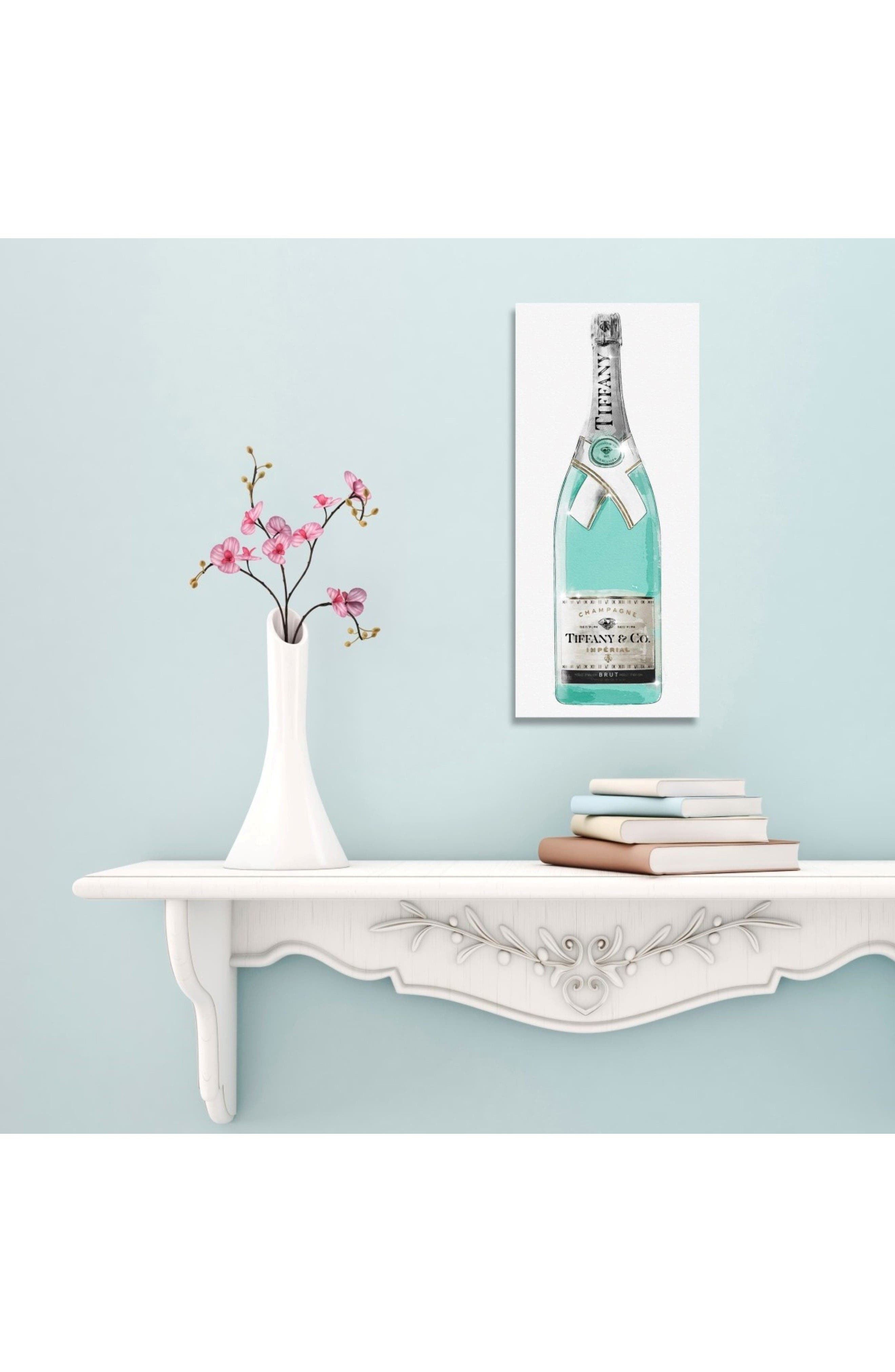 Priceless Champagne Canvas Art Print,                             Alternate thumbnail 2, color,                             White