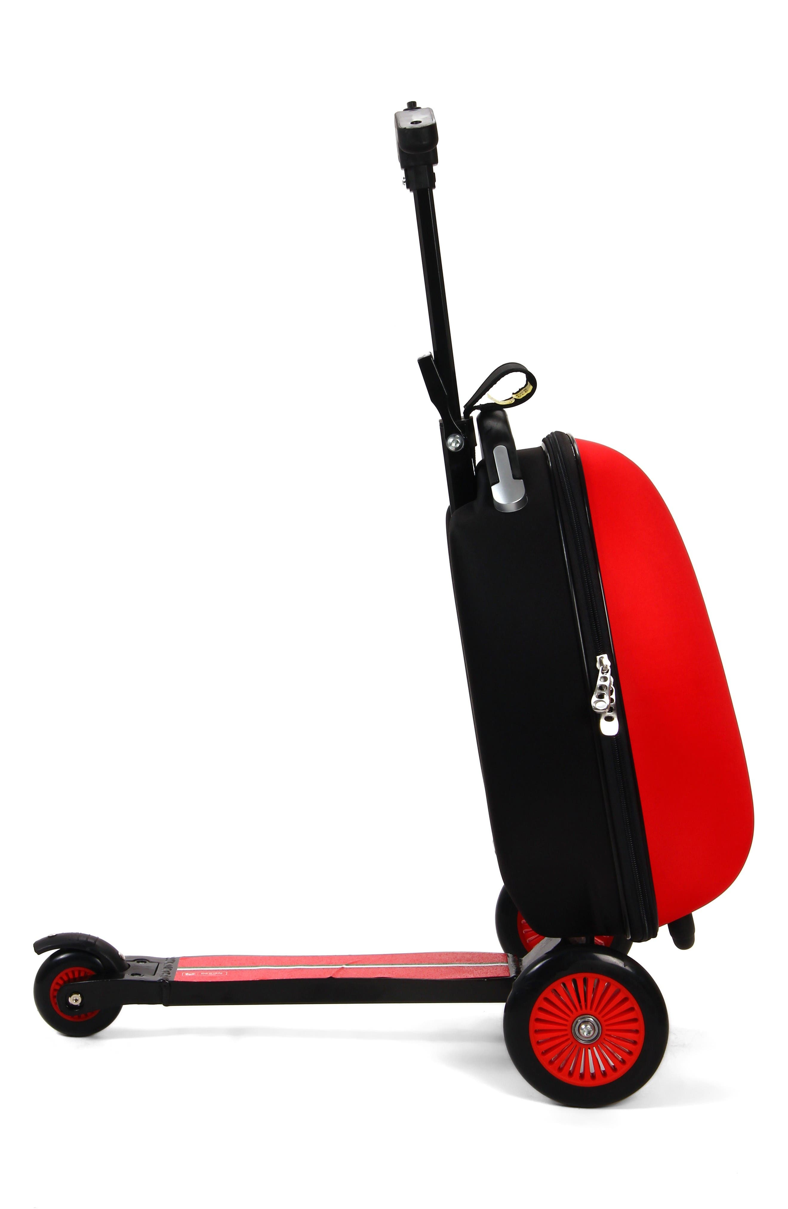 Scooter Trolley Case,                             Alternate thumbnail 2, color,                             Red