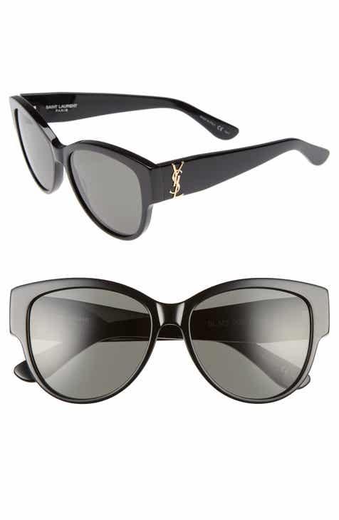 2c688886d0 Saint Laurent 55mm Cat Eye Sunglasses