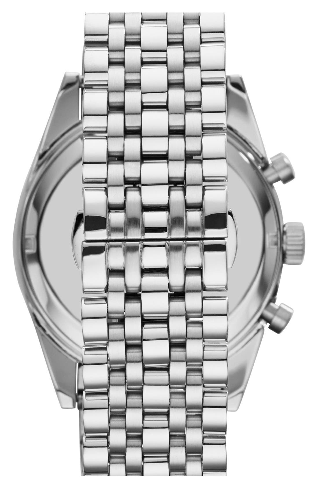 Alternate Image 2  - Emporio Armani Chronograph Bracelet Watch, 46mm