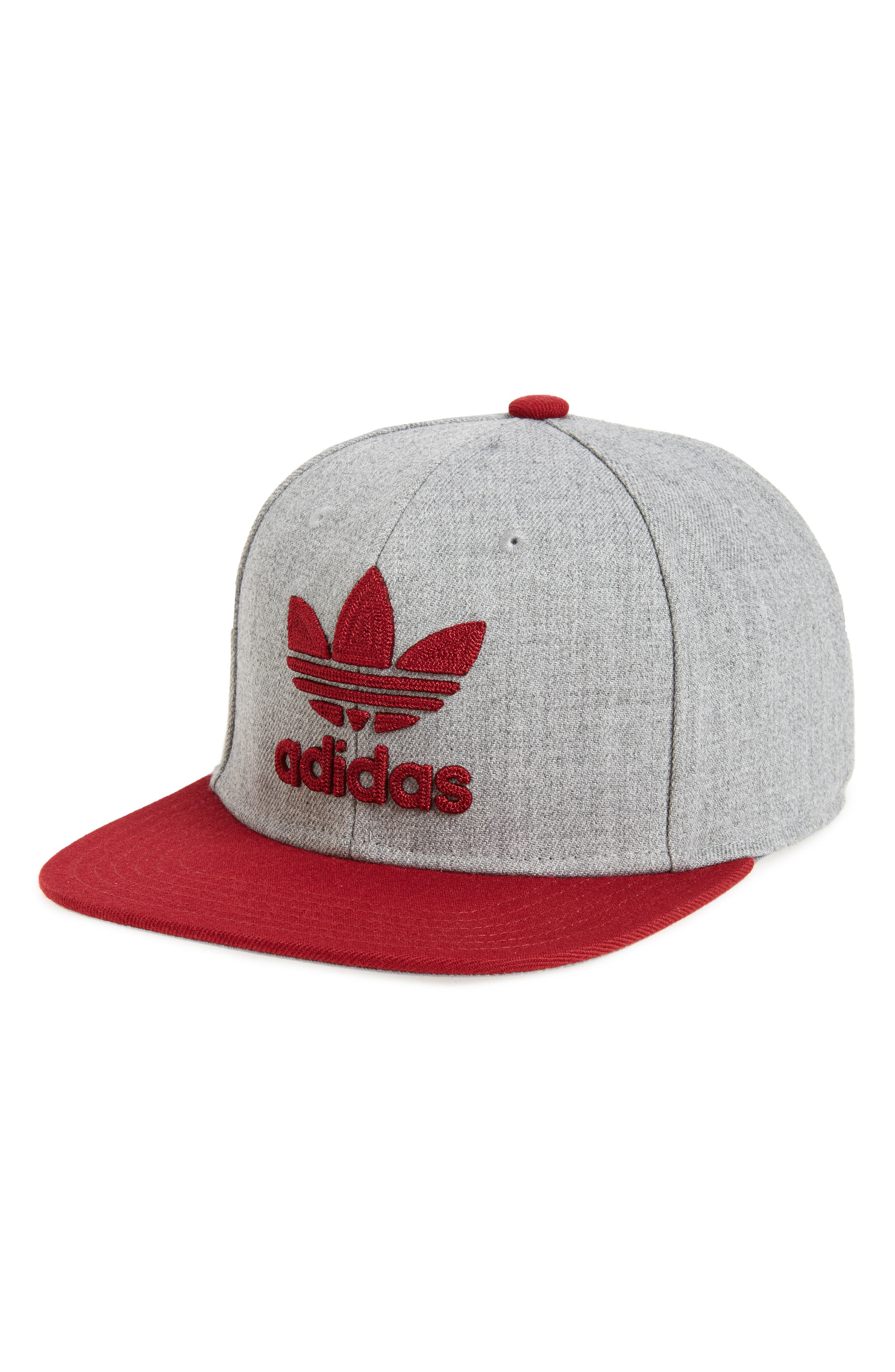 Alternate Image 1 Selected - adidas Originals 'Trefoil Chain' Snapback Cap