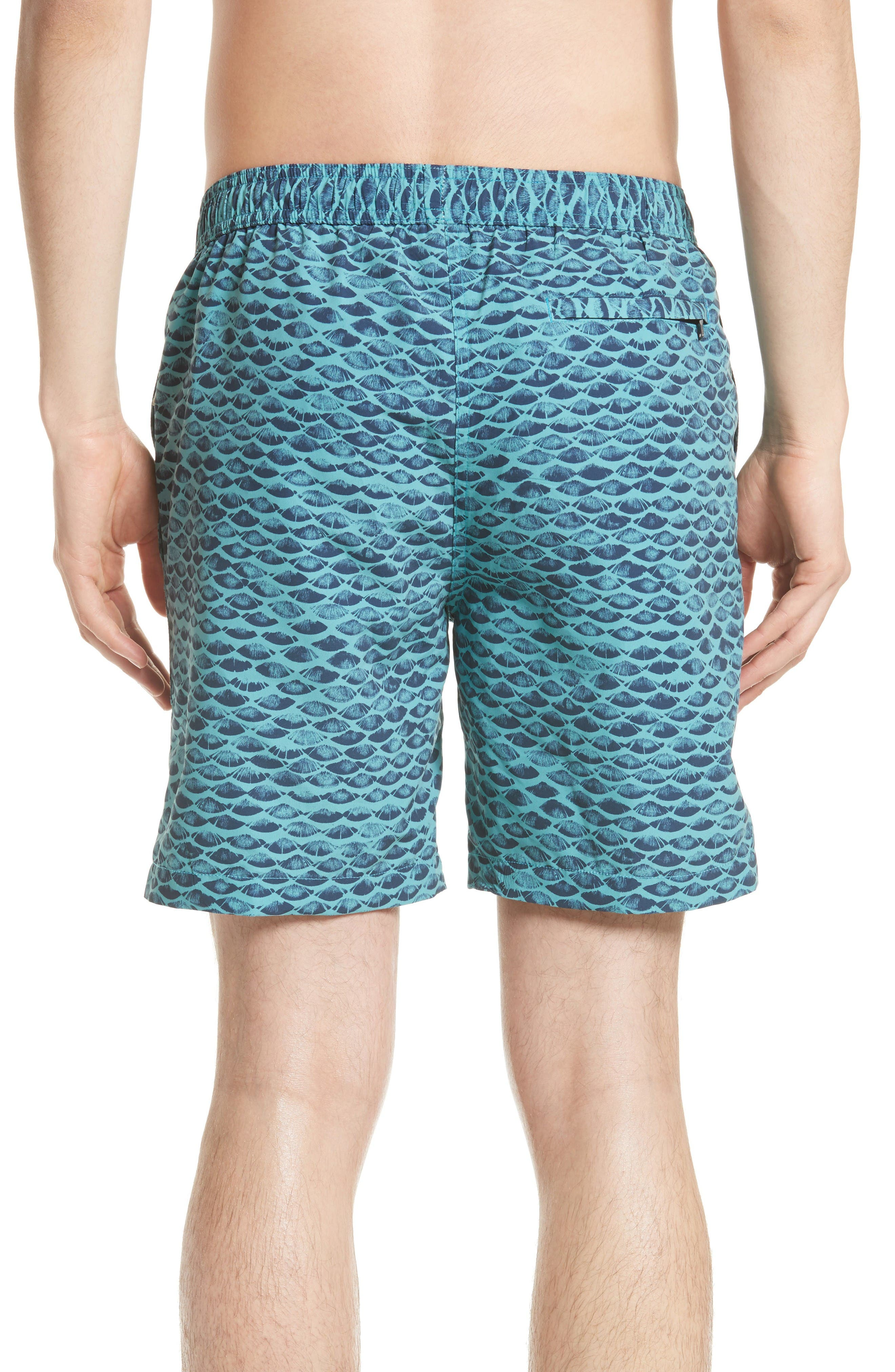 Alternate Image 2  - ONIA Charles Scales Swim Trunks