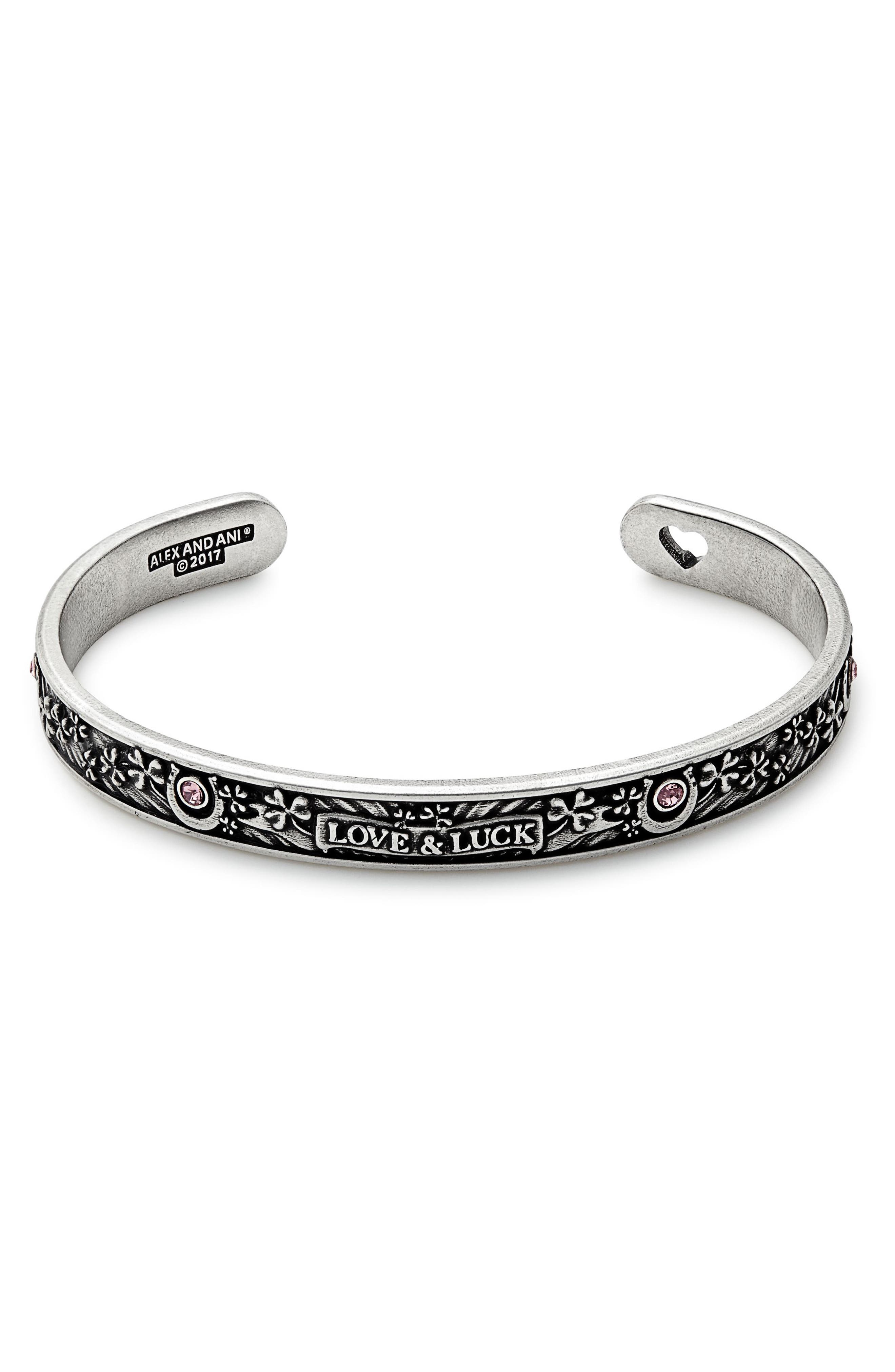 Alternate Image 1 Selected - Alex and Ani Fortune's Favor Cuff