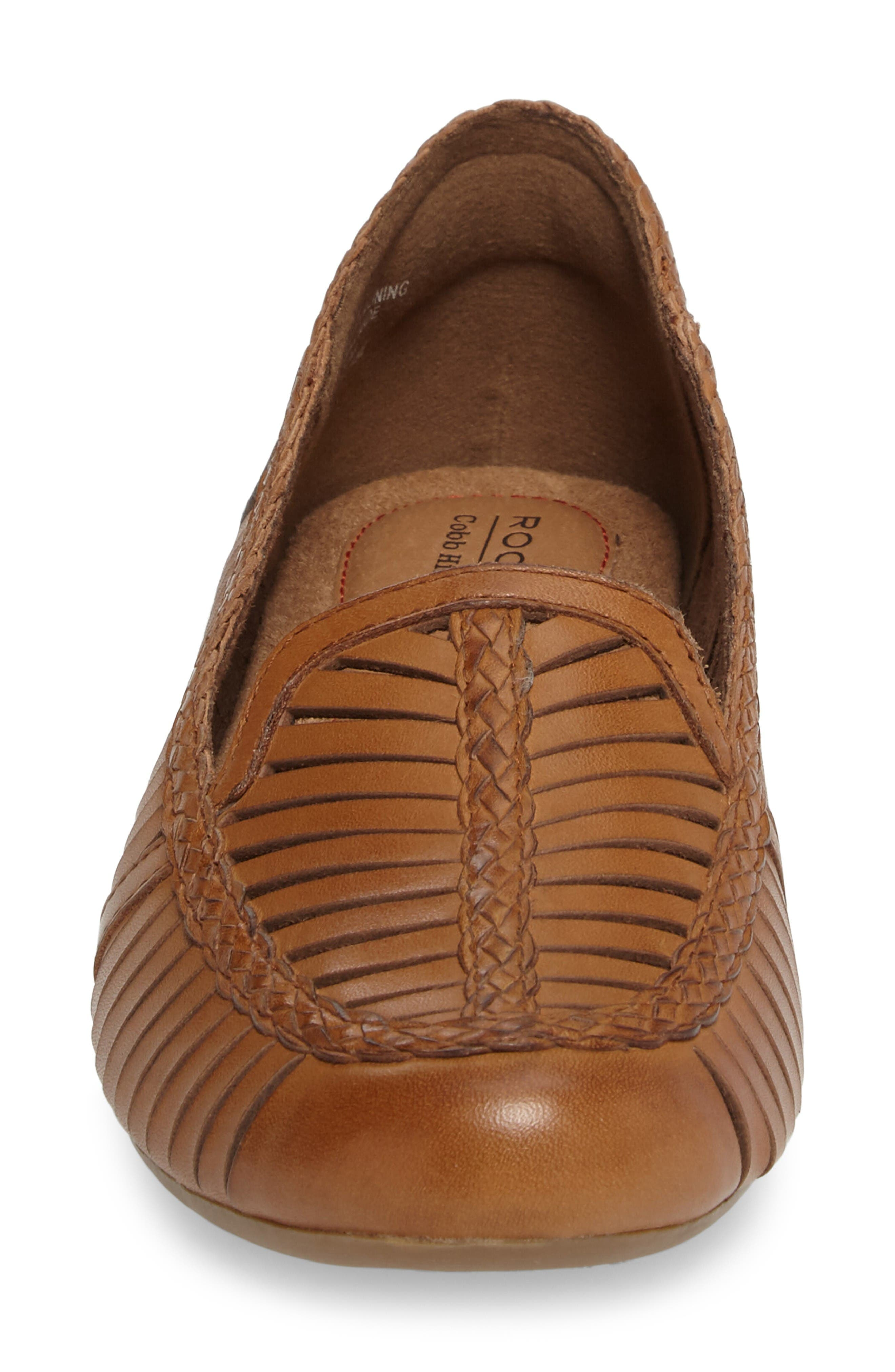 Galway Loafer,                             Alternate thumbnail 4, color,                             Tan Multi Leather