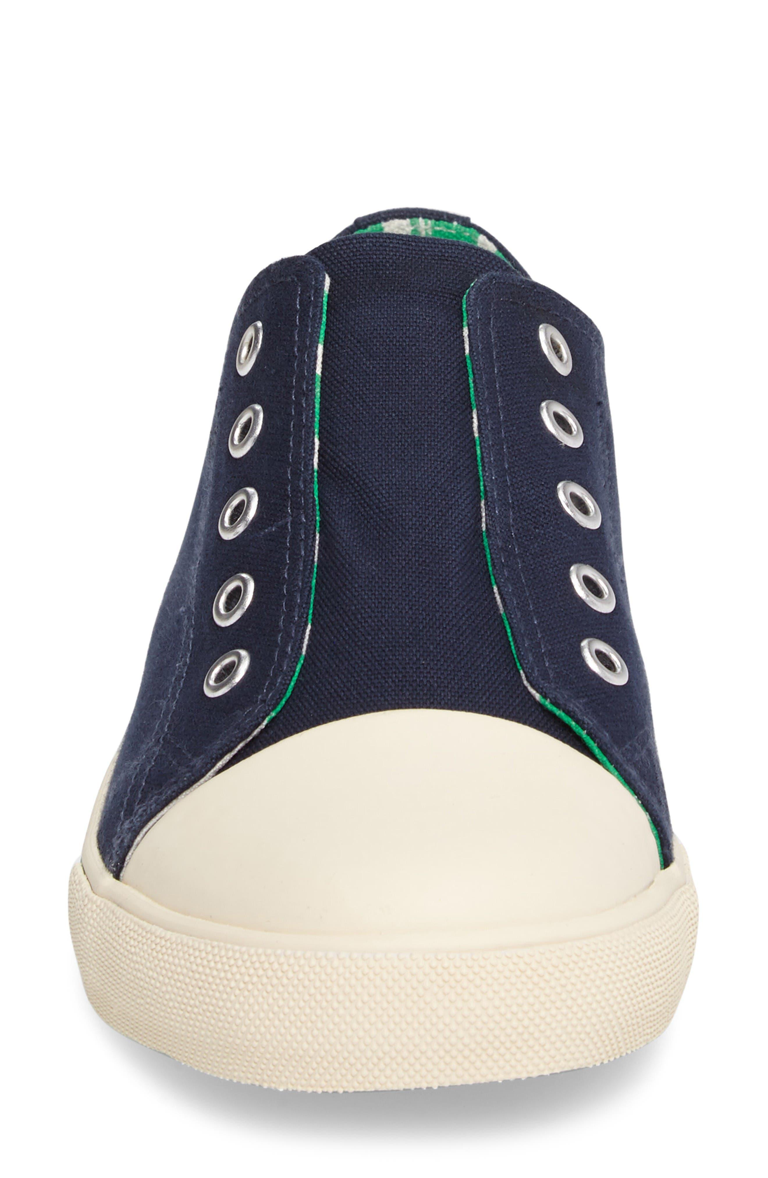 Alternate Image 4  - Mini Boden Laceless Sneaker (Toddler, Little Kid & Big Kid)