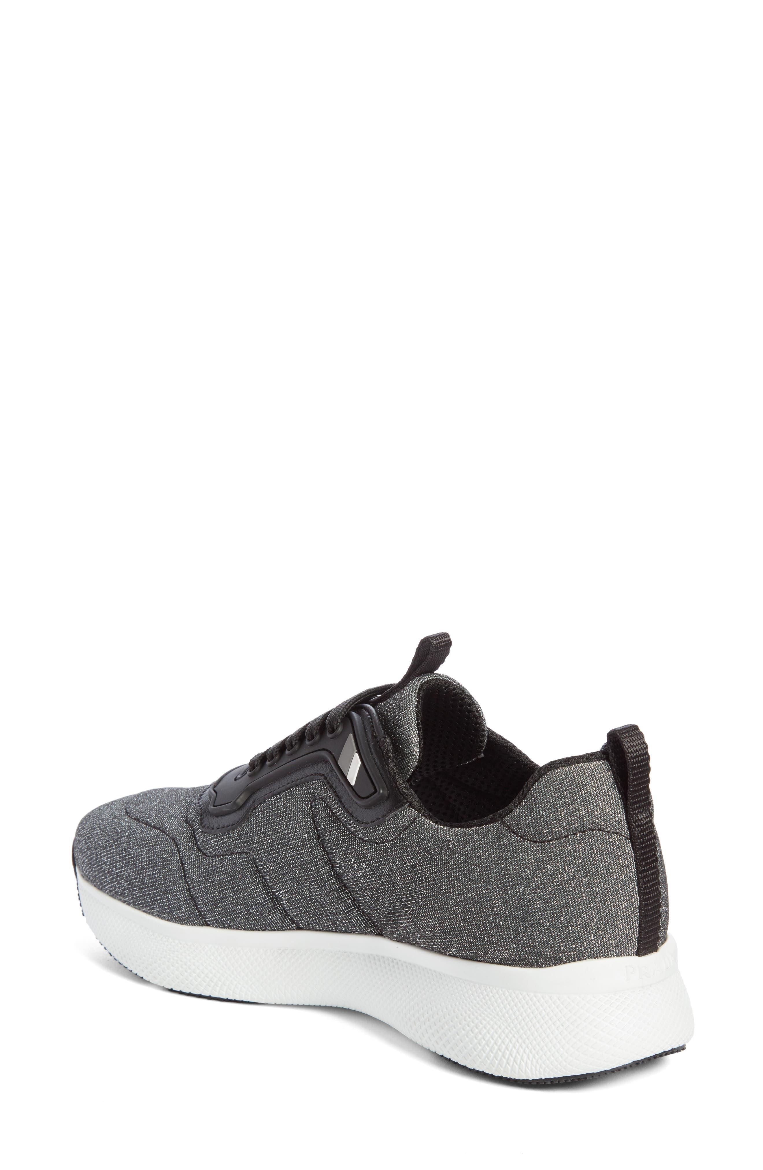 Alternate Image 2  - Prada Linea Rossa Runner Sneaker (Women)