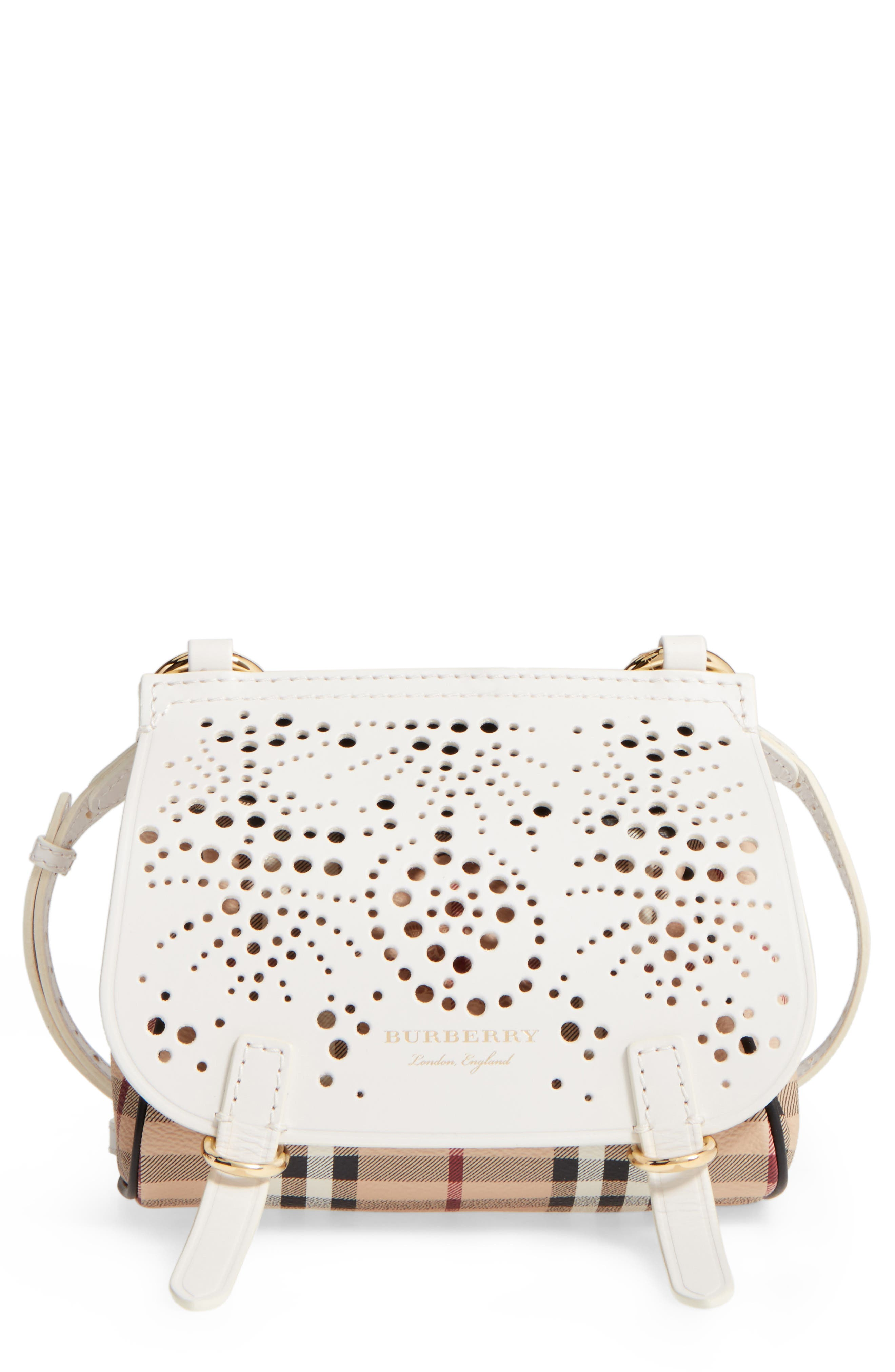 Baby Bridle Crossbody Bag,                         Main,                         color, Natural