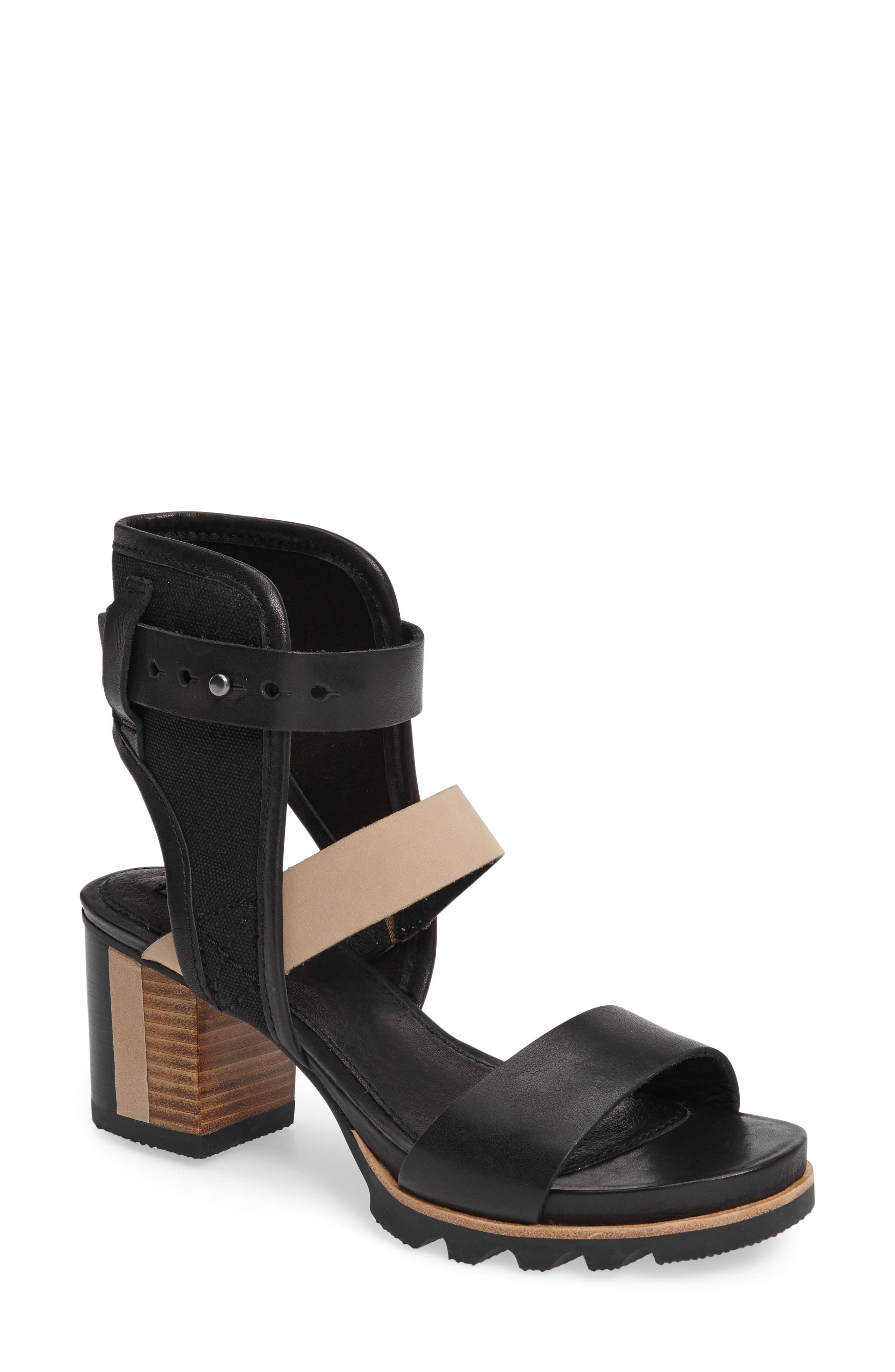 Alternate Image 1 Selected - SOREL Addington Ankle Cuff Sandal (Women)