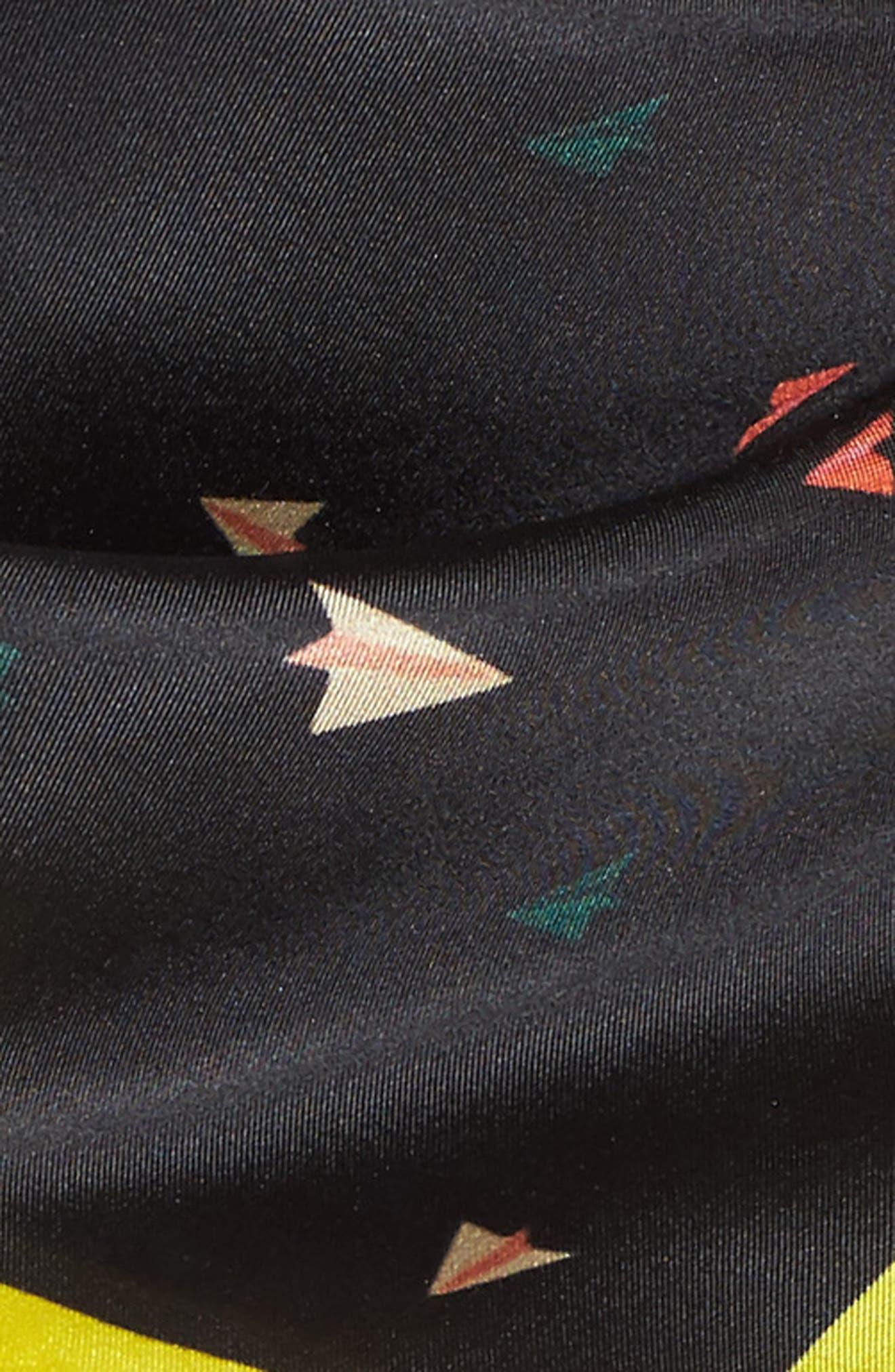 Alternate Image 3  - Rebecca Minkoff Paper Airplane Square Silk Scarf