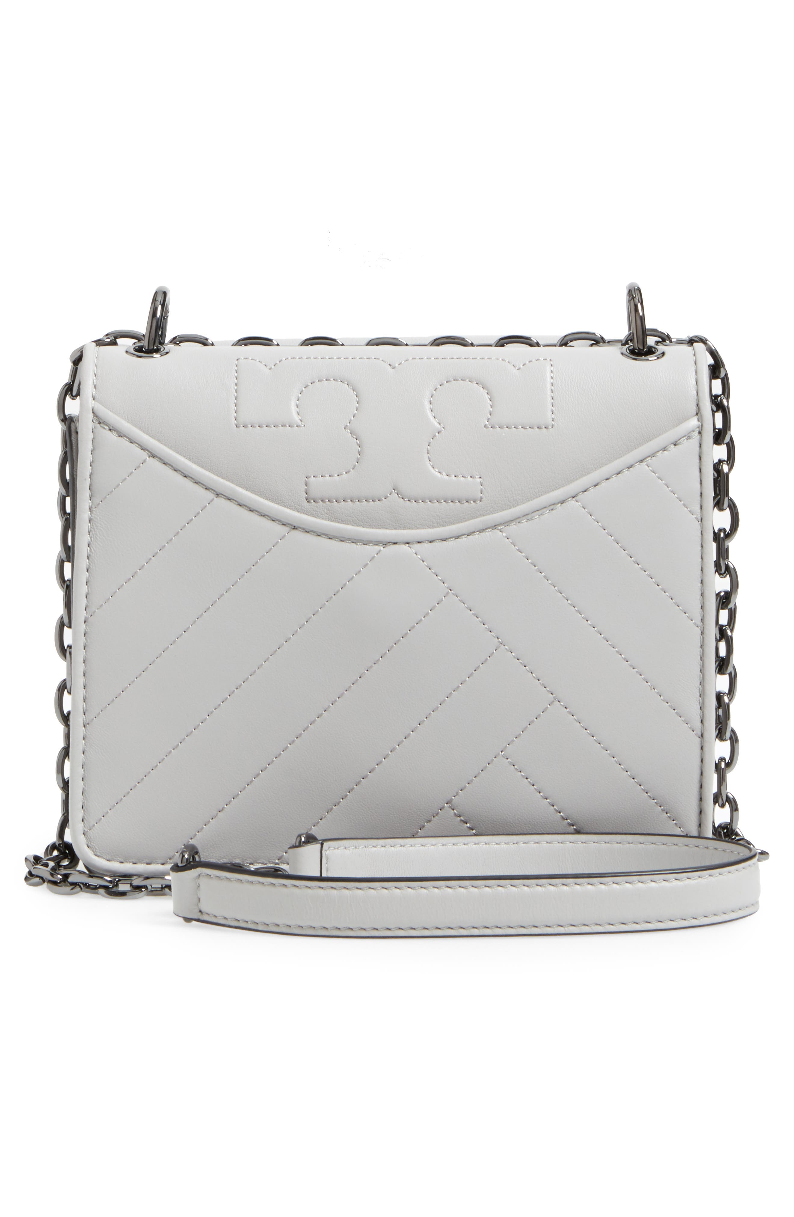 Alternate Image 3  - Tory Burch Chevron Quilted Leather Crossbody Bag