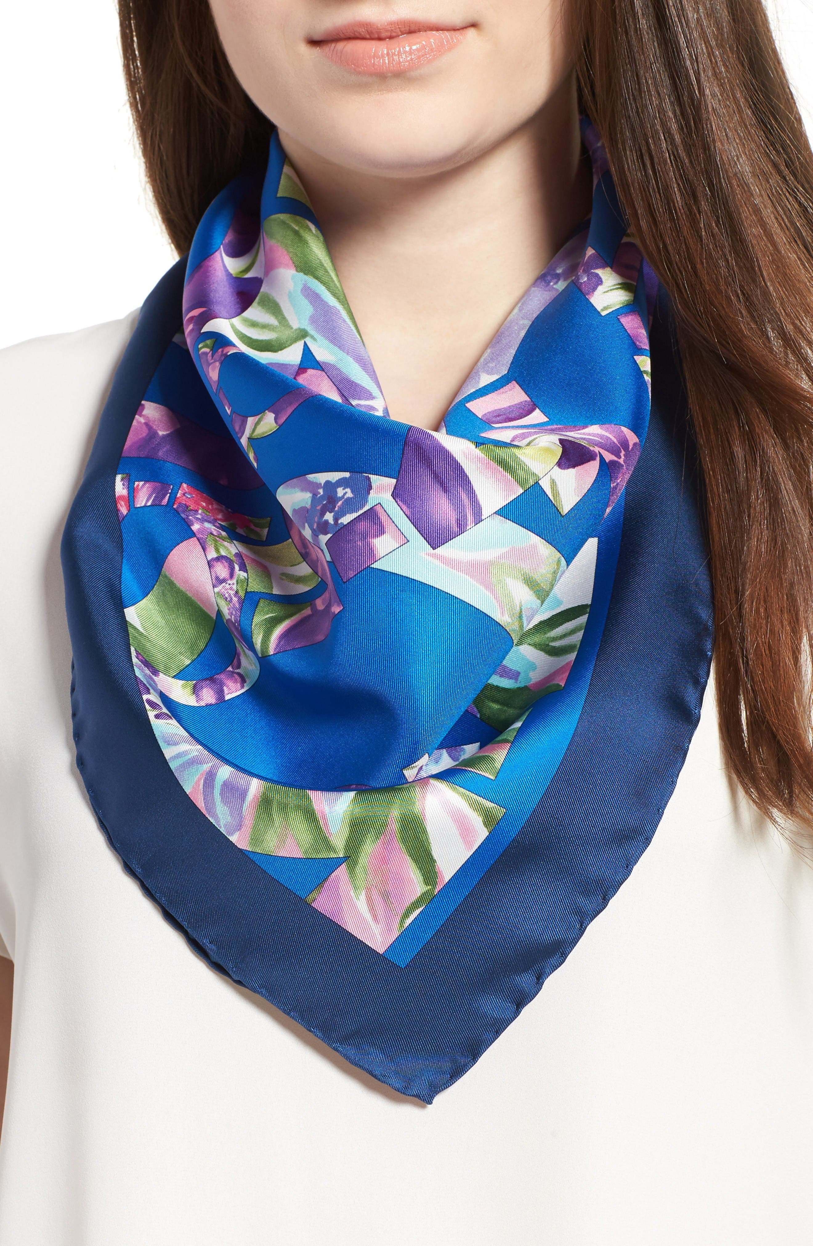 Alternate Image 2  - Salvatore Ferragamo Silk Scarf